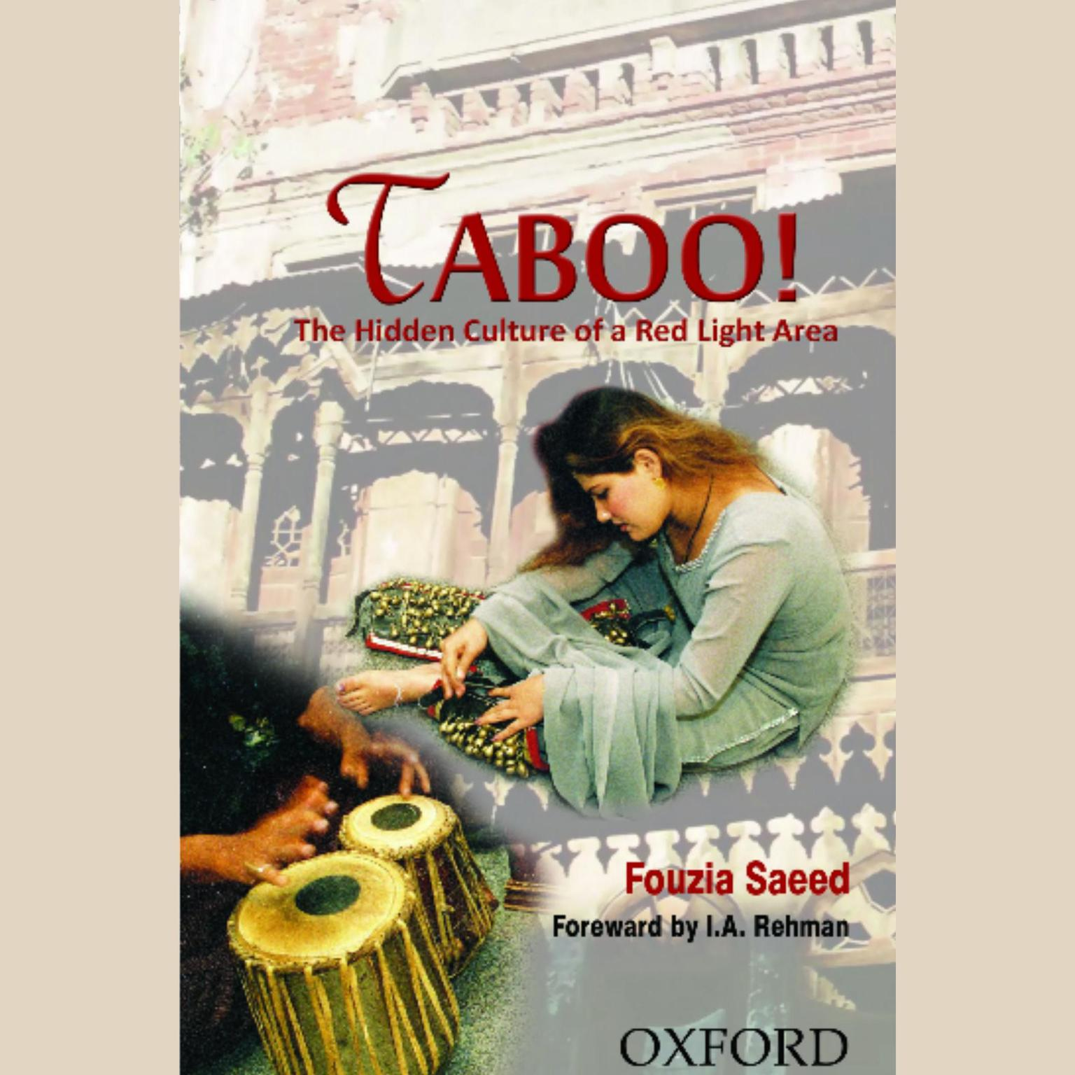 Printable Taboo!: The Hidden Culture of a Red Light Area Audiobook Cover Art