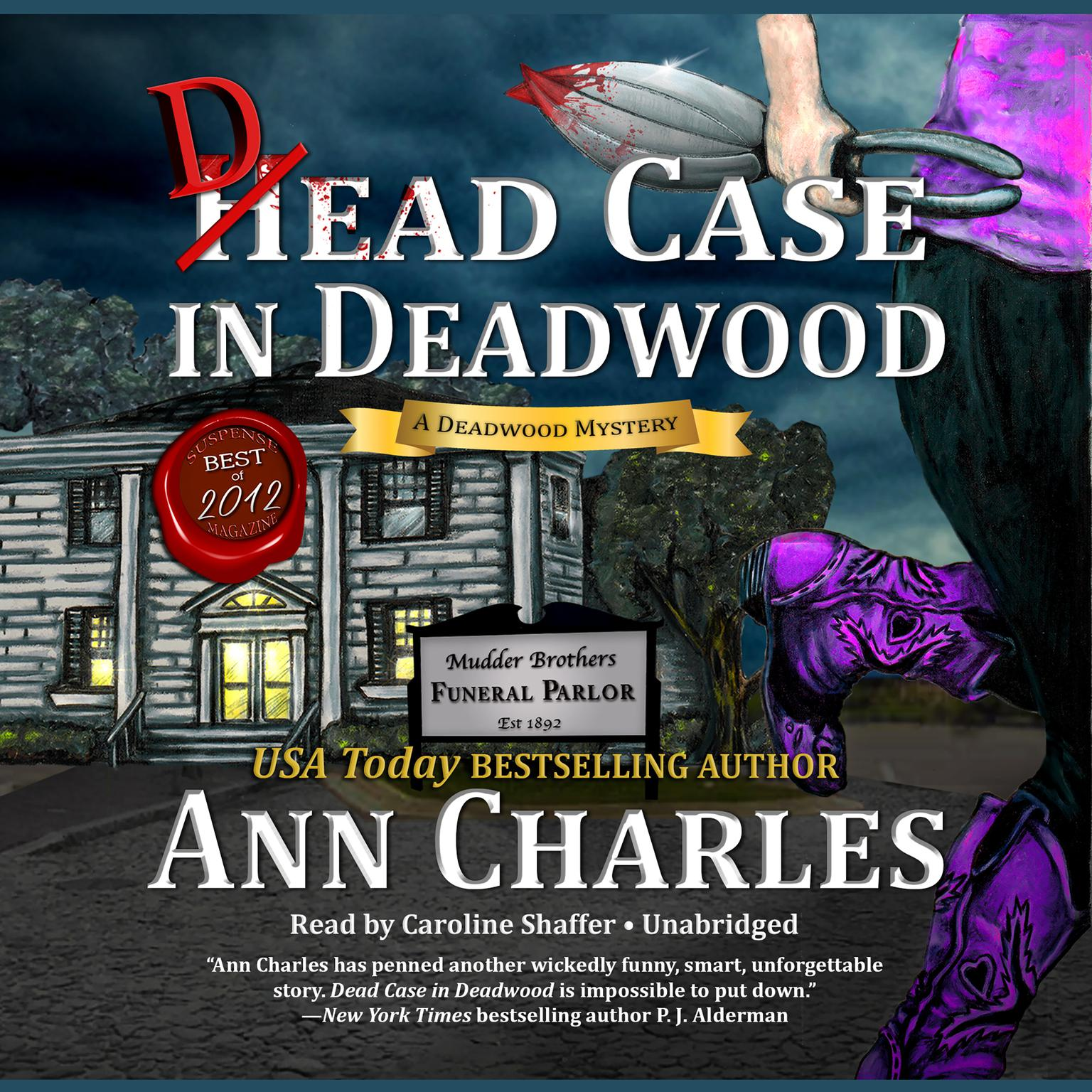 Printable Dead Case in Deadwood: A Deadwood Mystery Audiobook Cover Art
