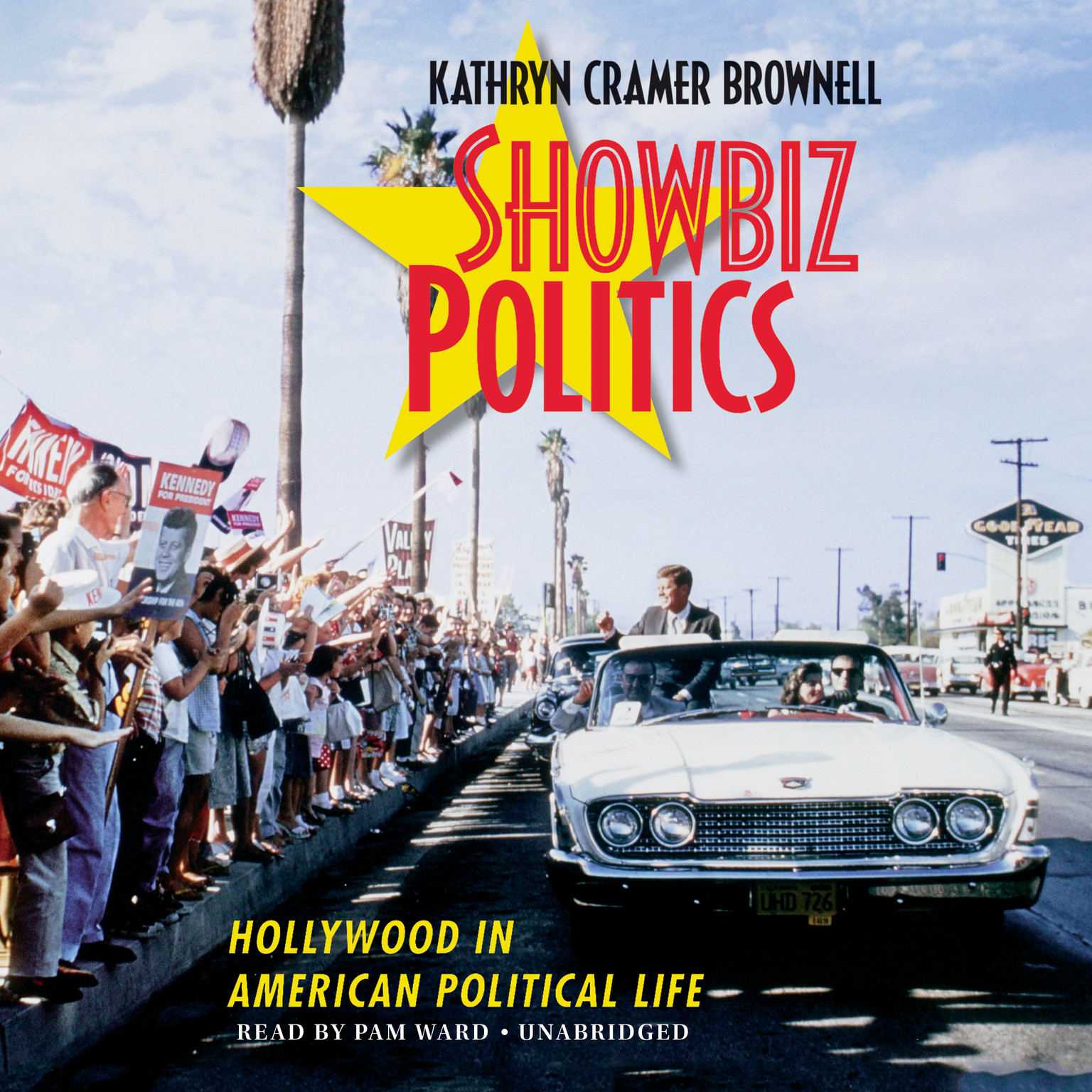Printable Showbiz Politics: Hollywood in American Political Life Audiobook Cover Art