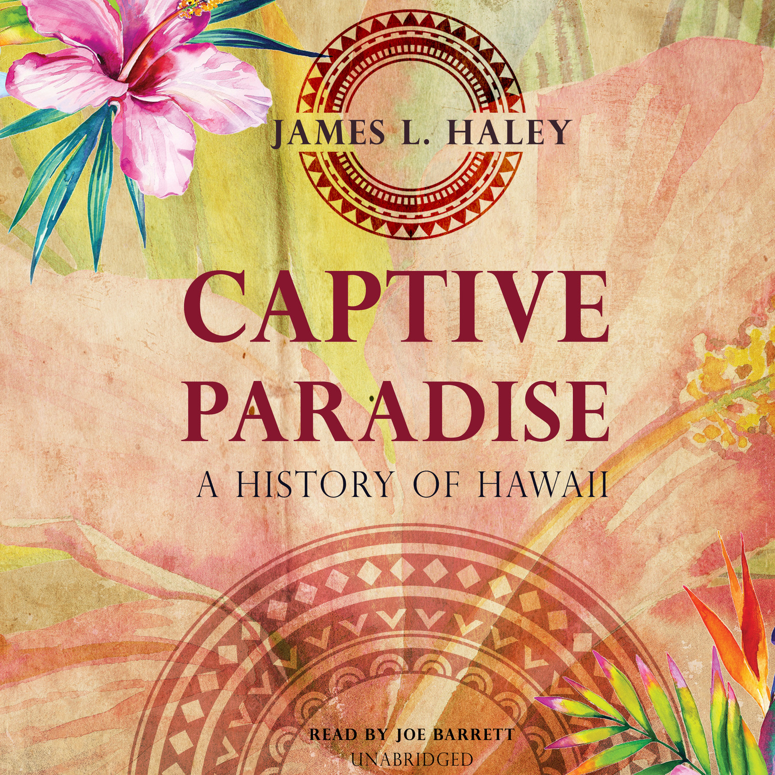 Printable Captive Paradise: A History of Hawaii Audiobook Cover Art