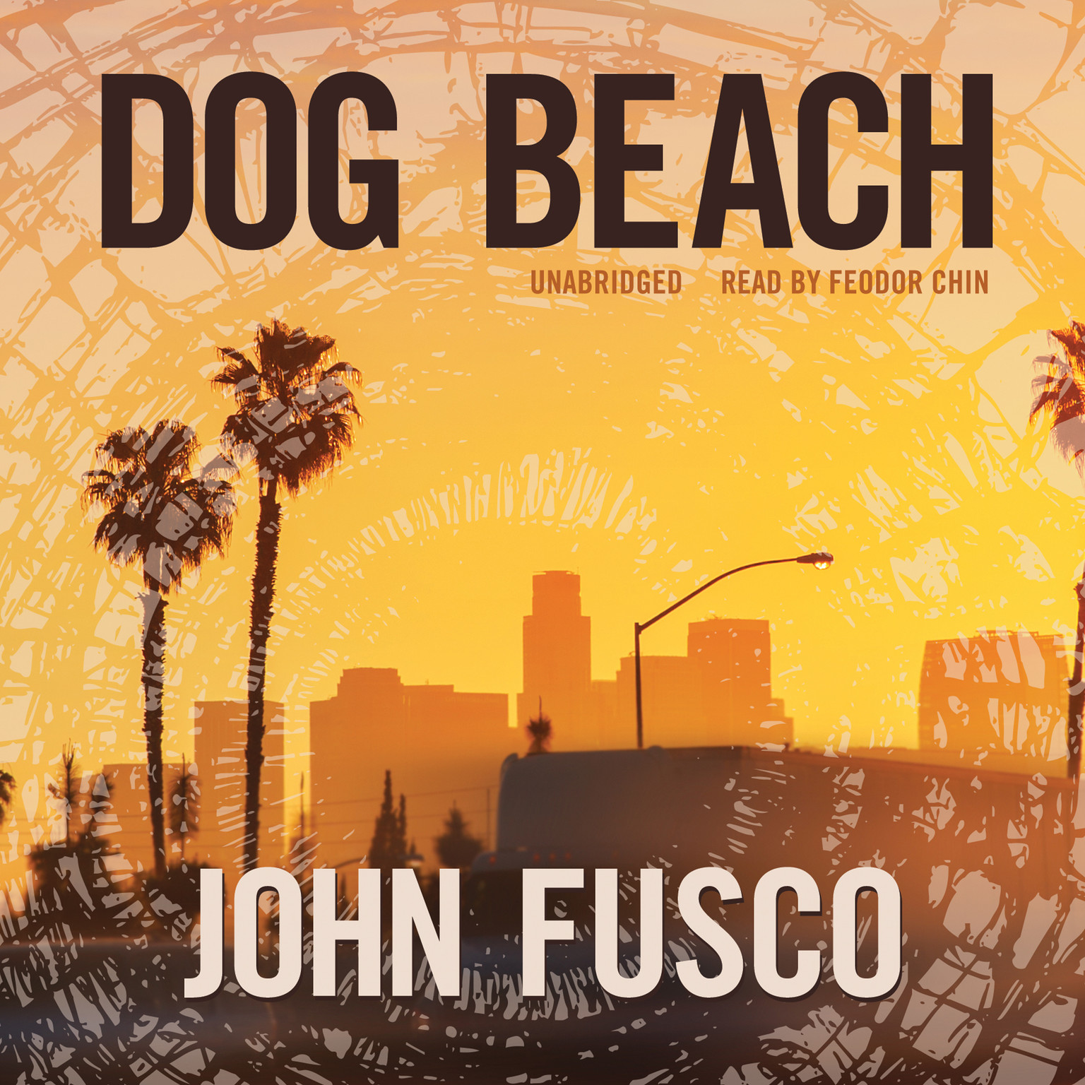 Printable Dog Beach Audiobook Cover Art