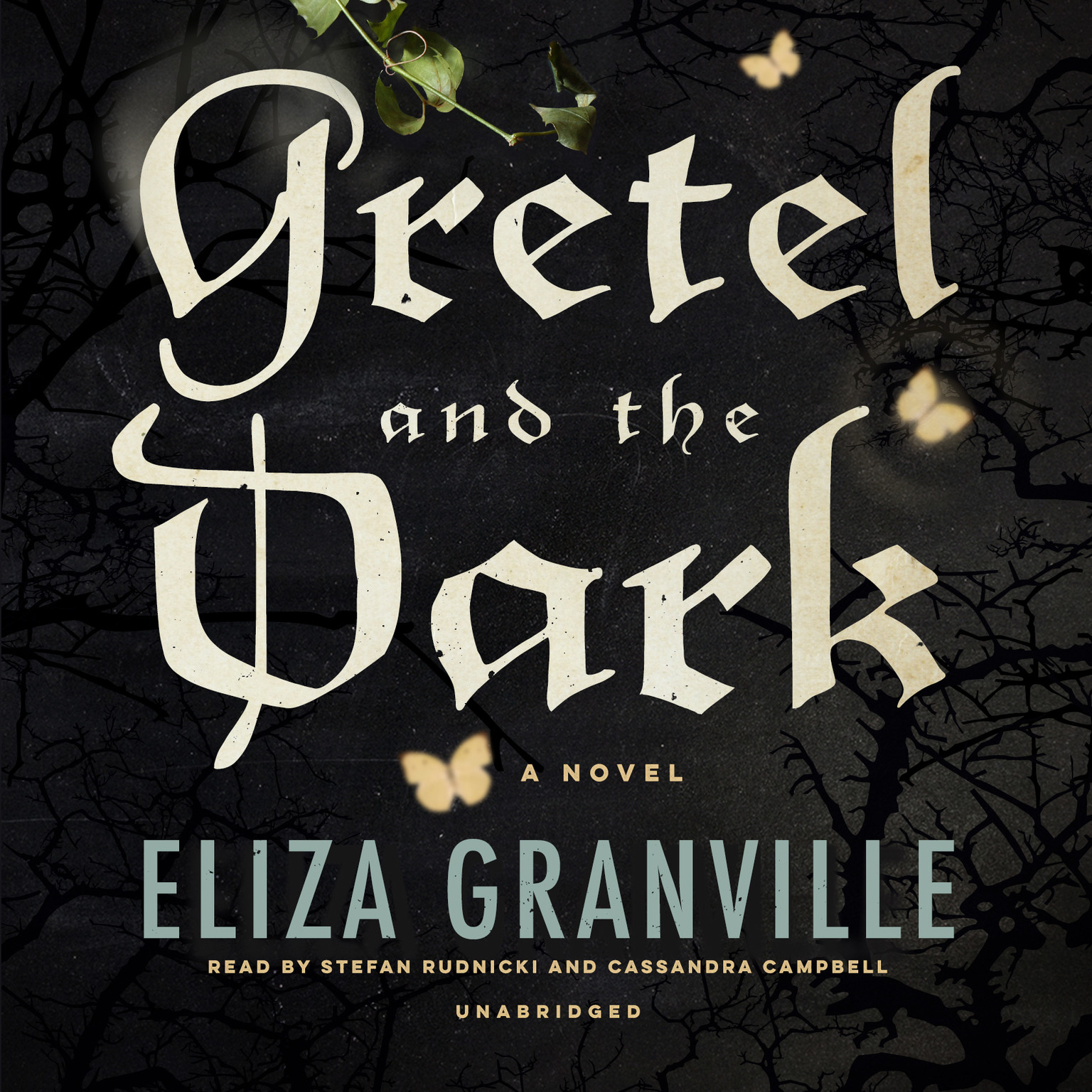 Printable Gretel and the Dark Audiobook Cover Art