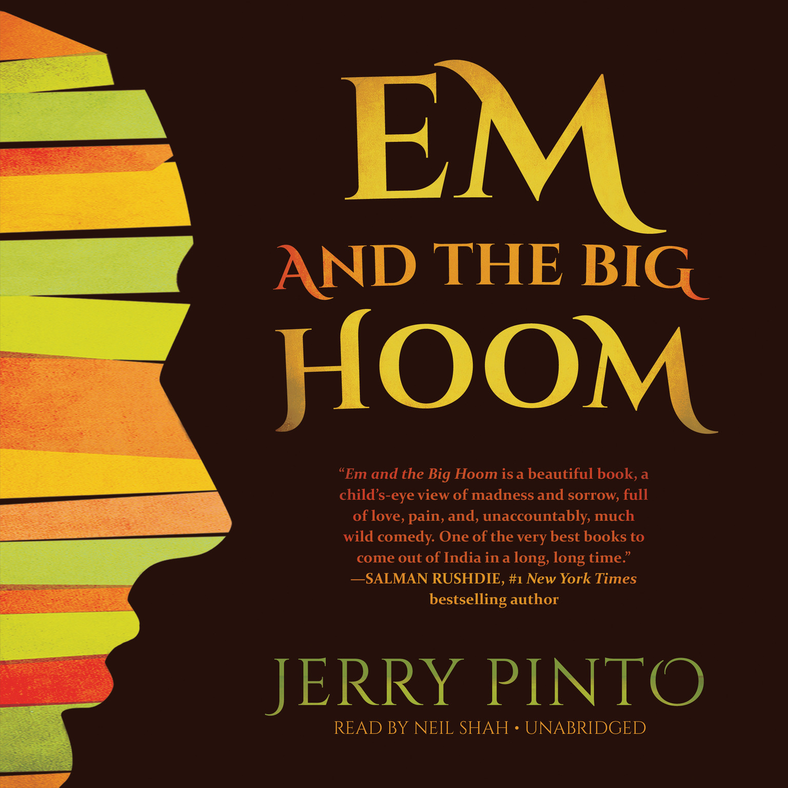Printable Em and the Big Hoom Audiobook Cover Art