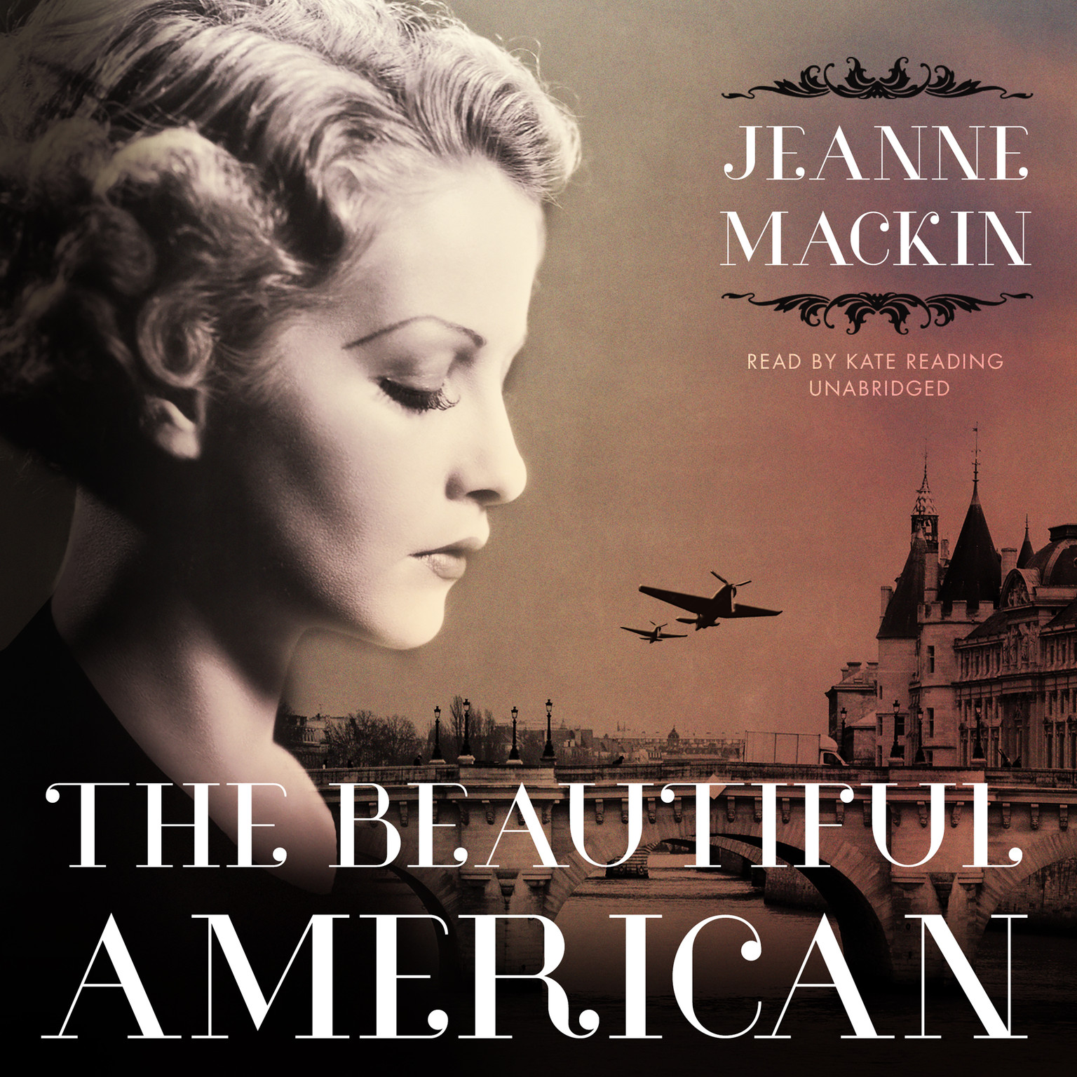 Printable The Beautiful American Audiobook Cover Art