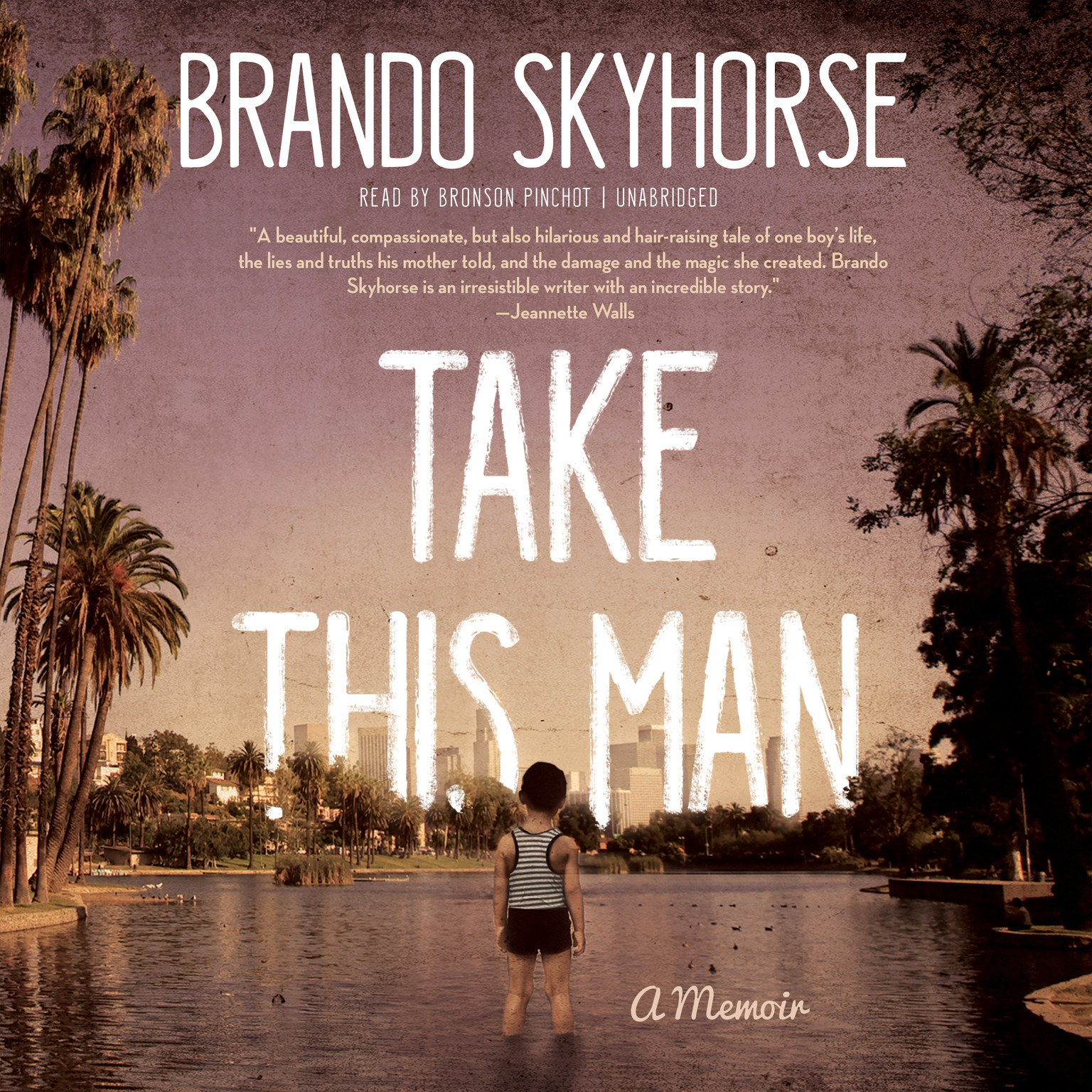 Printable Take This Man: A Memoir Audiobook Cover Art