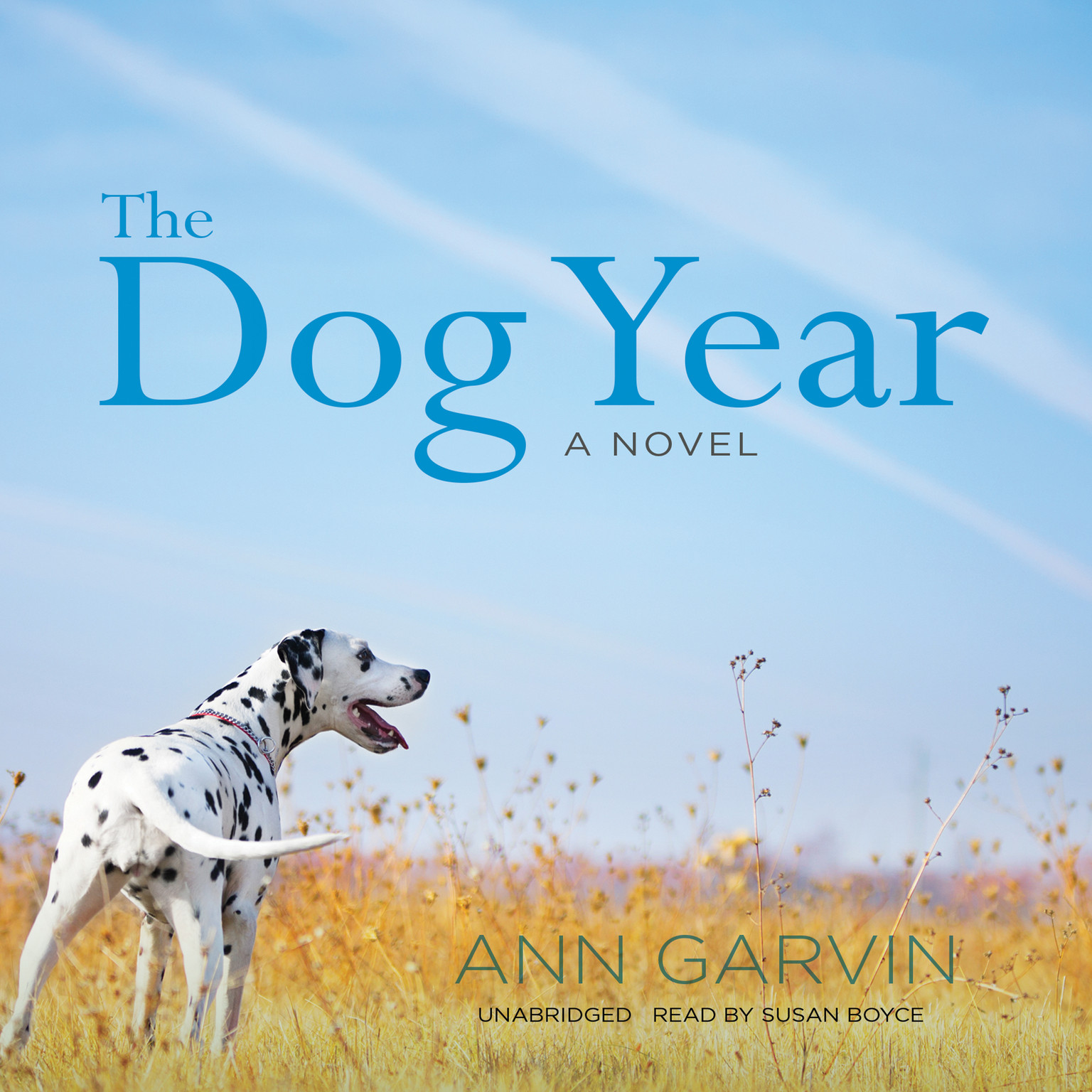 Printable The Dog Year Audiobook Cover Art