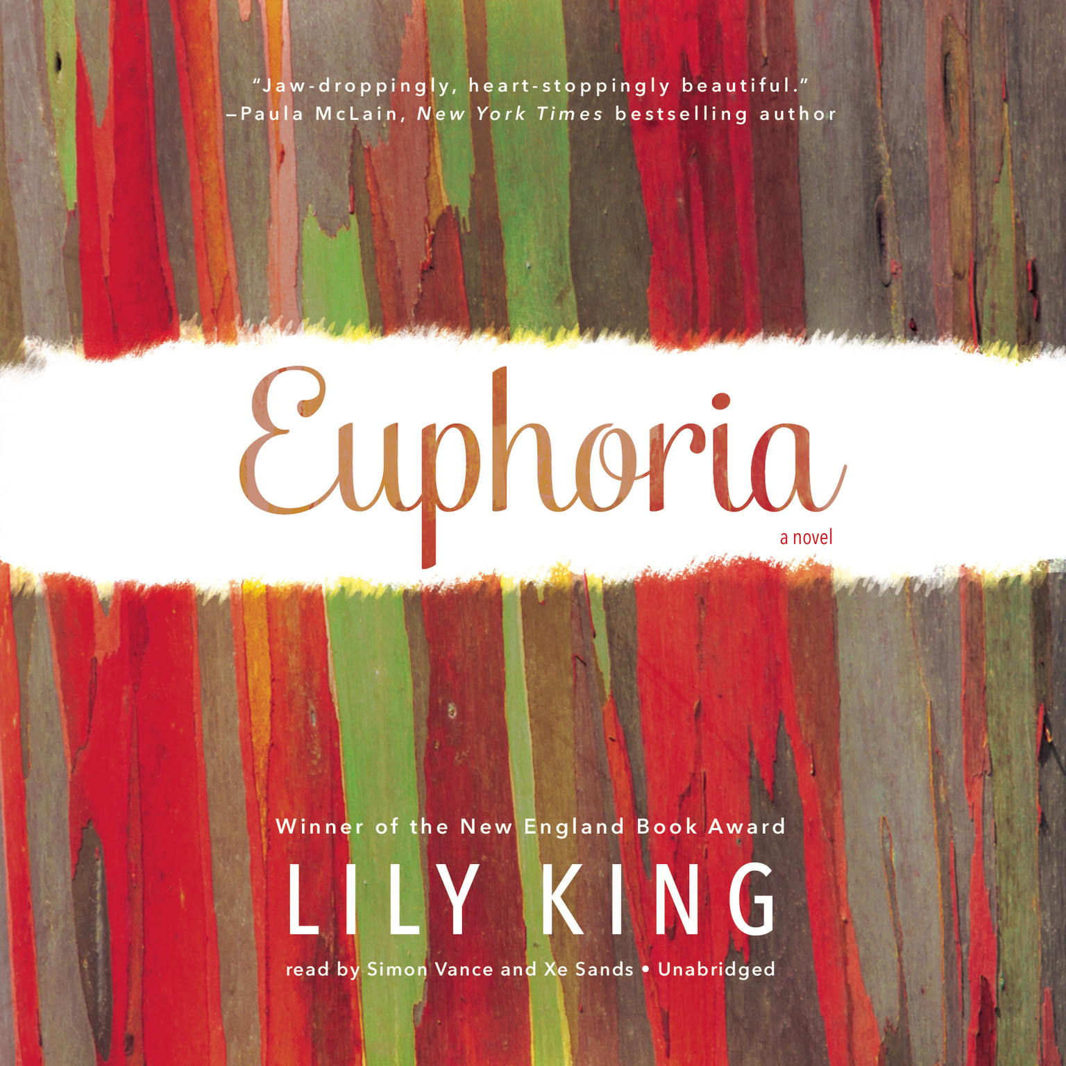 Printable Euphoria: A Novel Audiobook Cover Art
