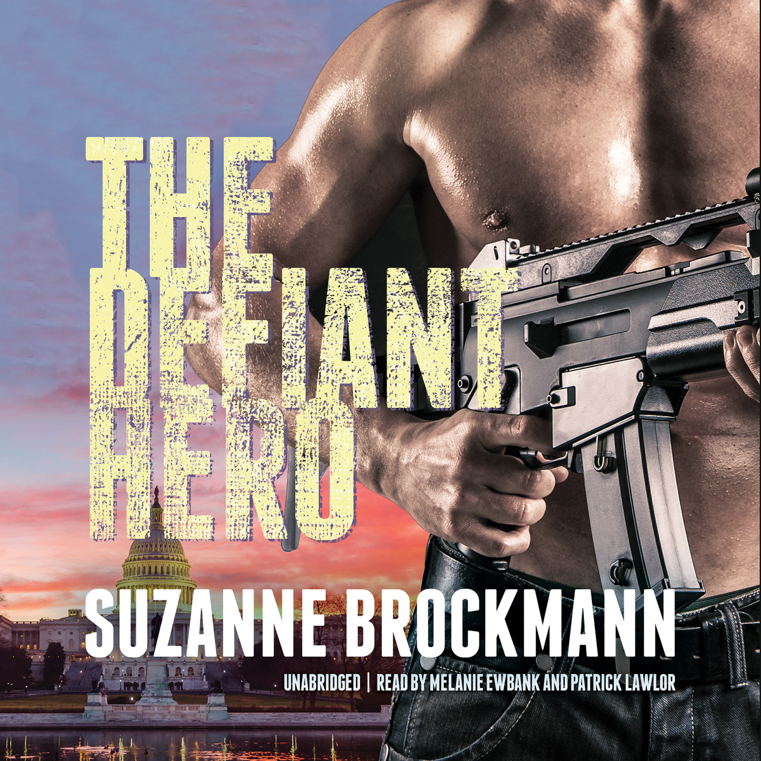 Printable The Defiant Hero Audiobook Cover Art