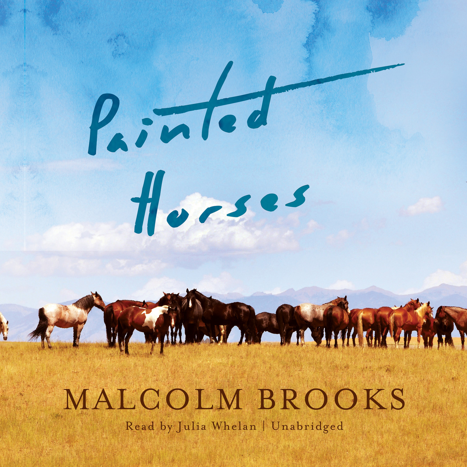 Printable Painted Horses Audiobook Cover Art