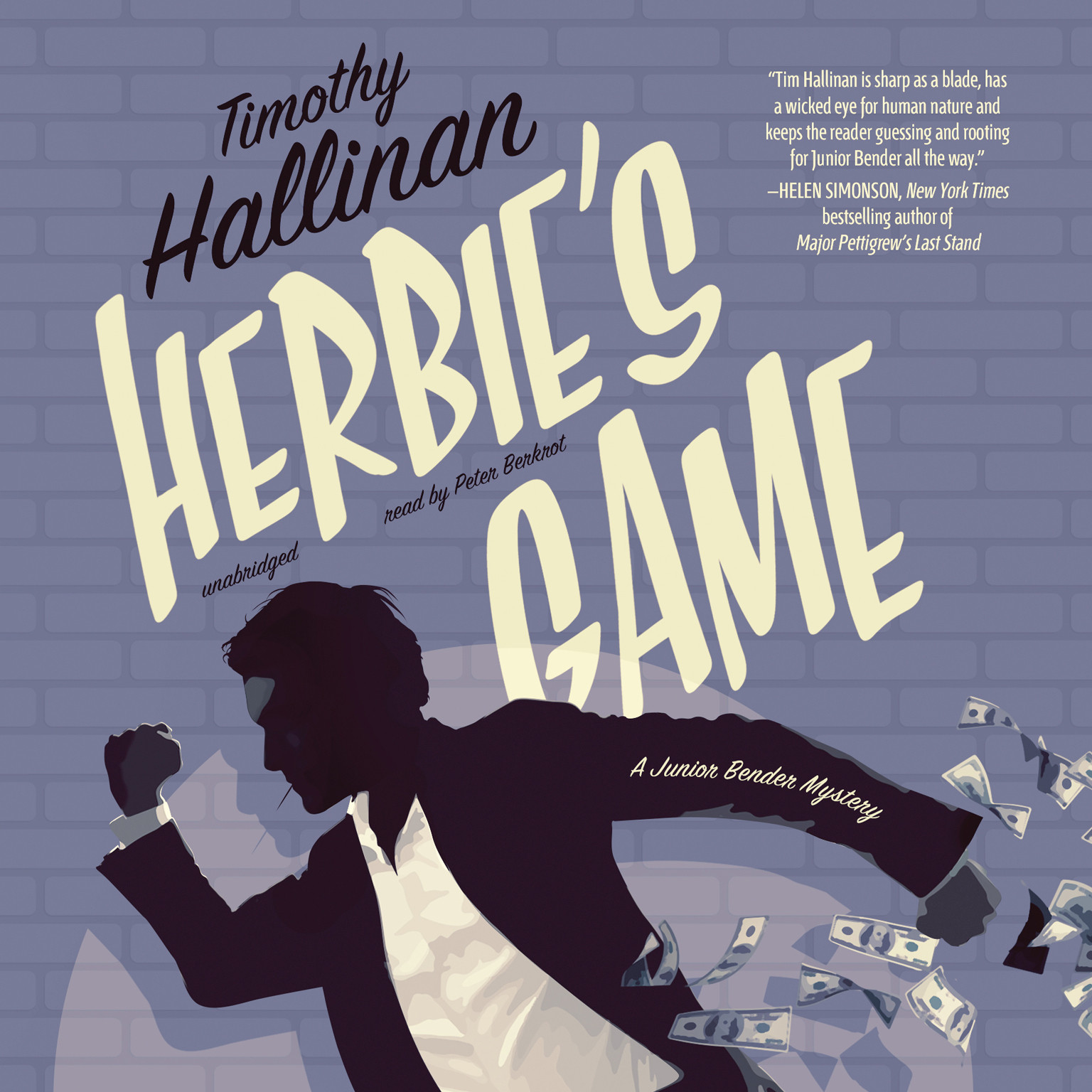 Printable Herbie's Game: A Junior Bender Mystery Audiobook Cover Art