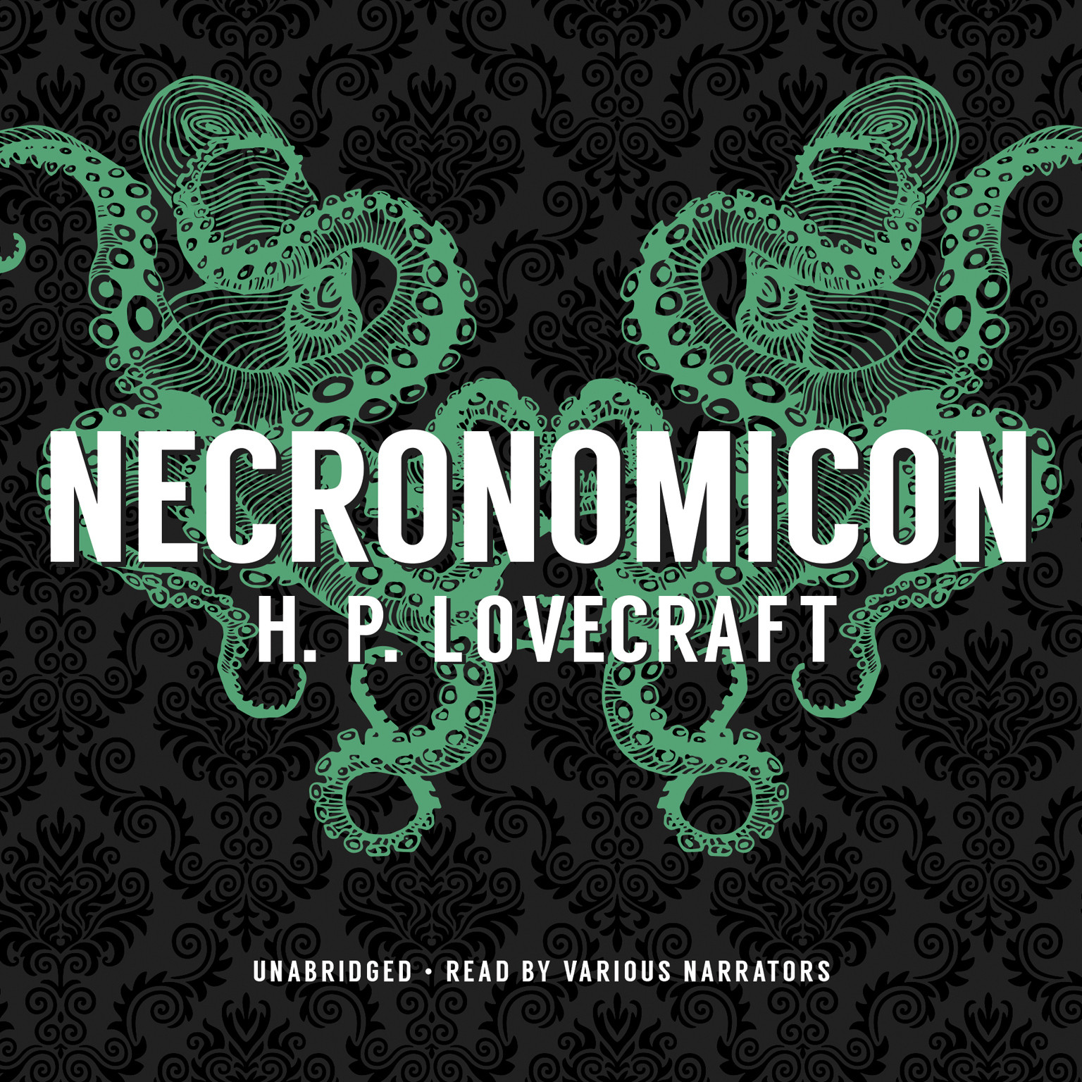 Printable Necronomicon Audiobook Cover Art