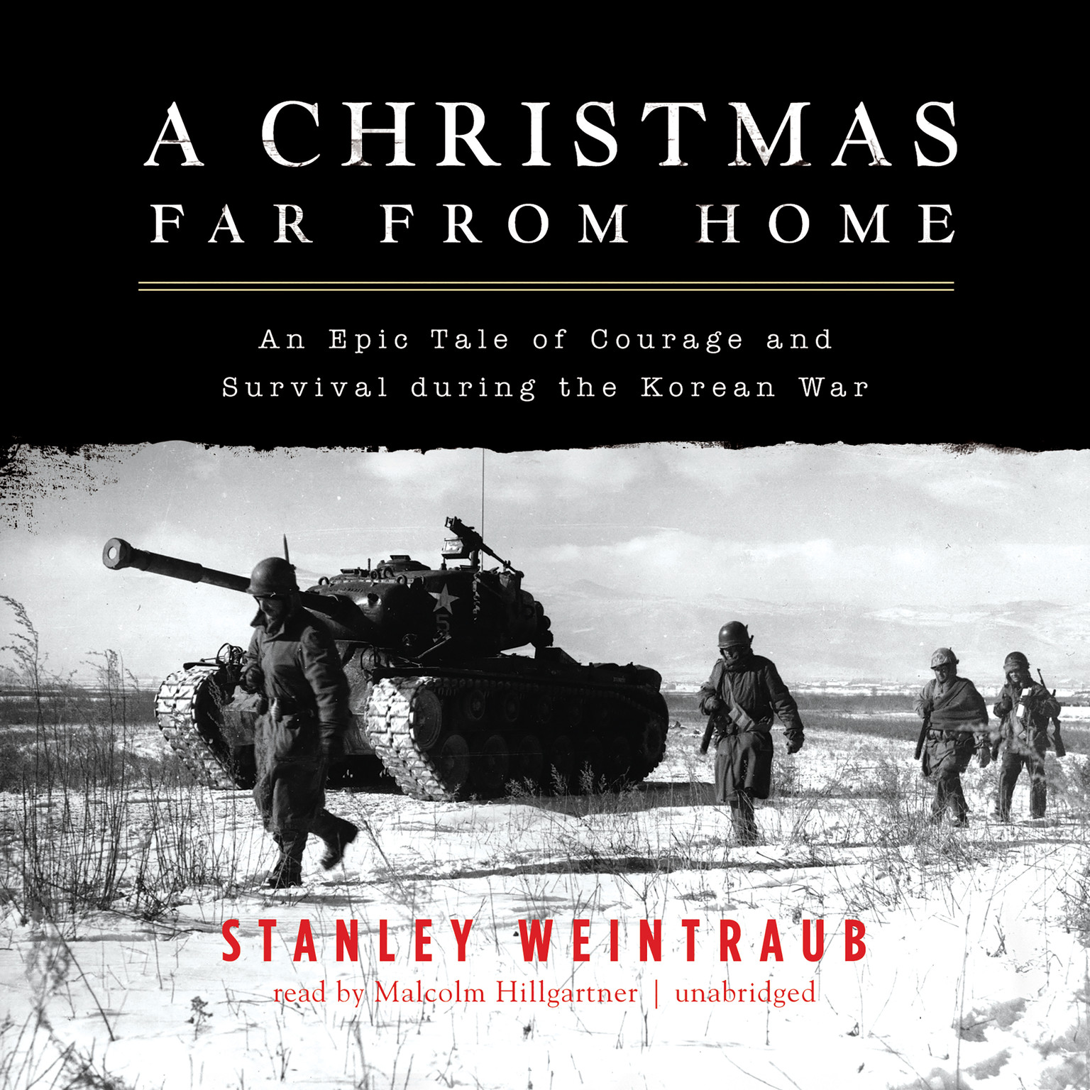 Printable A Christmas Far from Home: An Epic Tale of Courage and Survival during the Korean War Audiobook Cover Art
