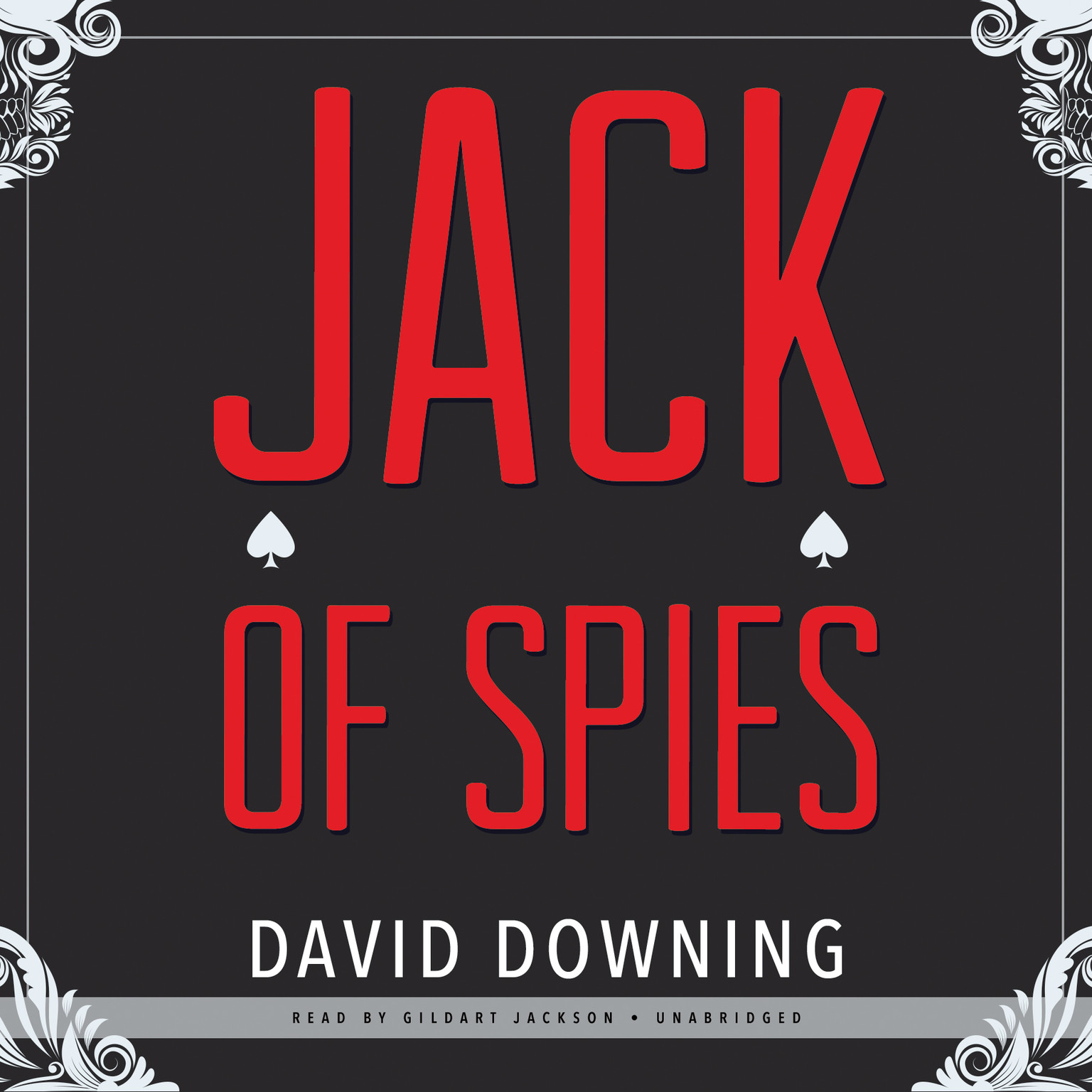 Printable Jack of Spies Audiobook Cover Art