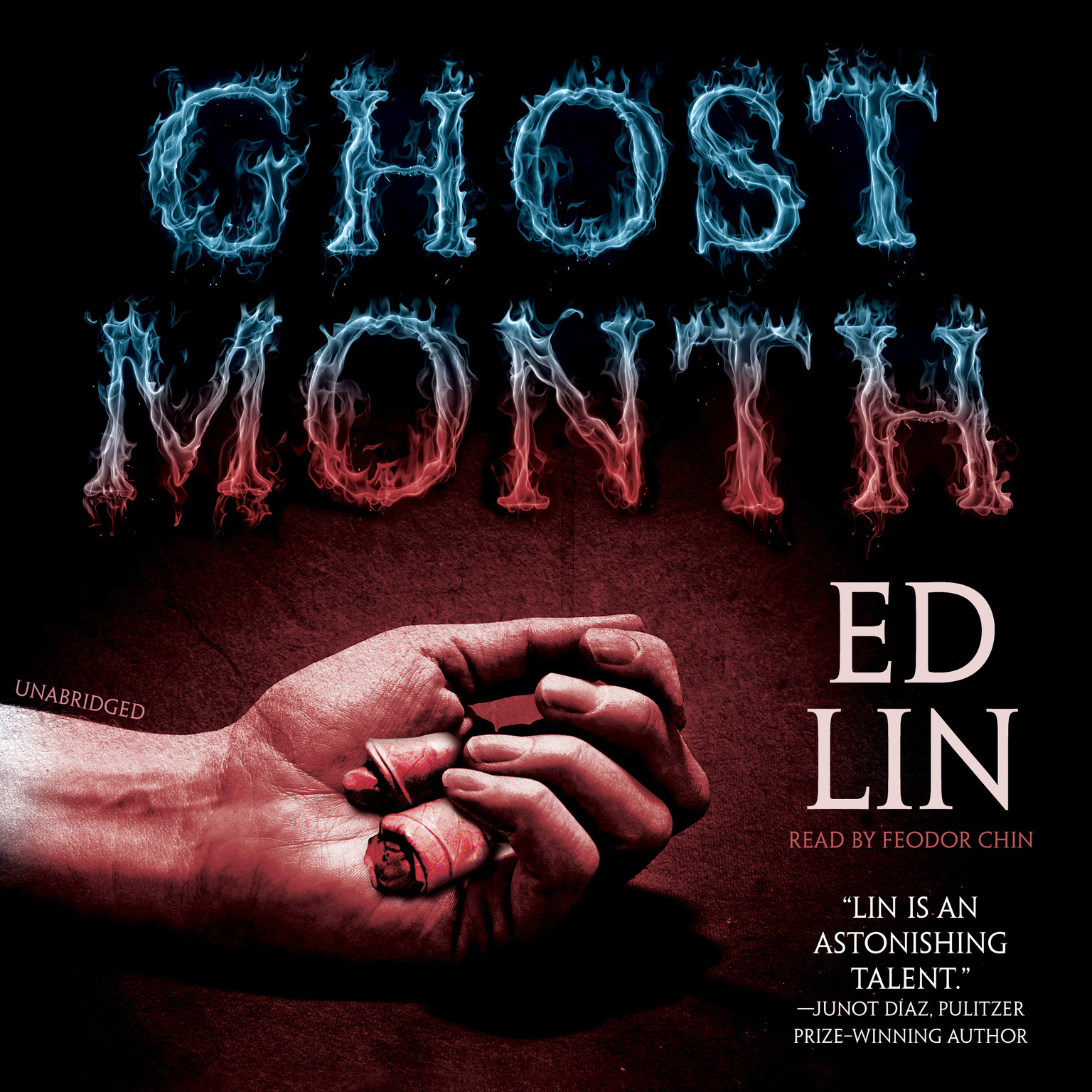 Printable Ghost Month Audiobook Cover Art