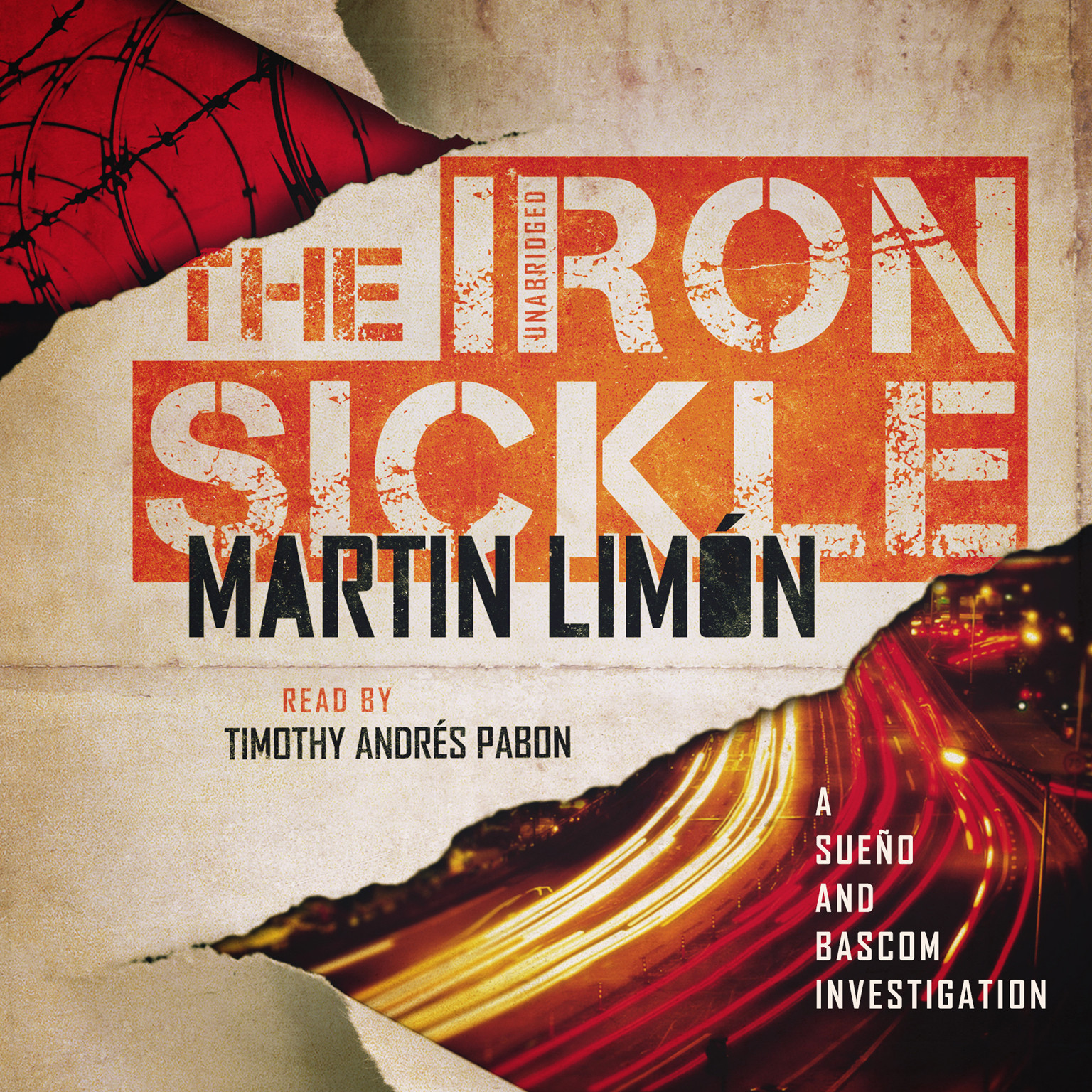 Printable The Iron Sickle Audiobook Cover Art