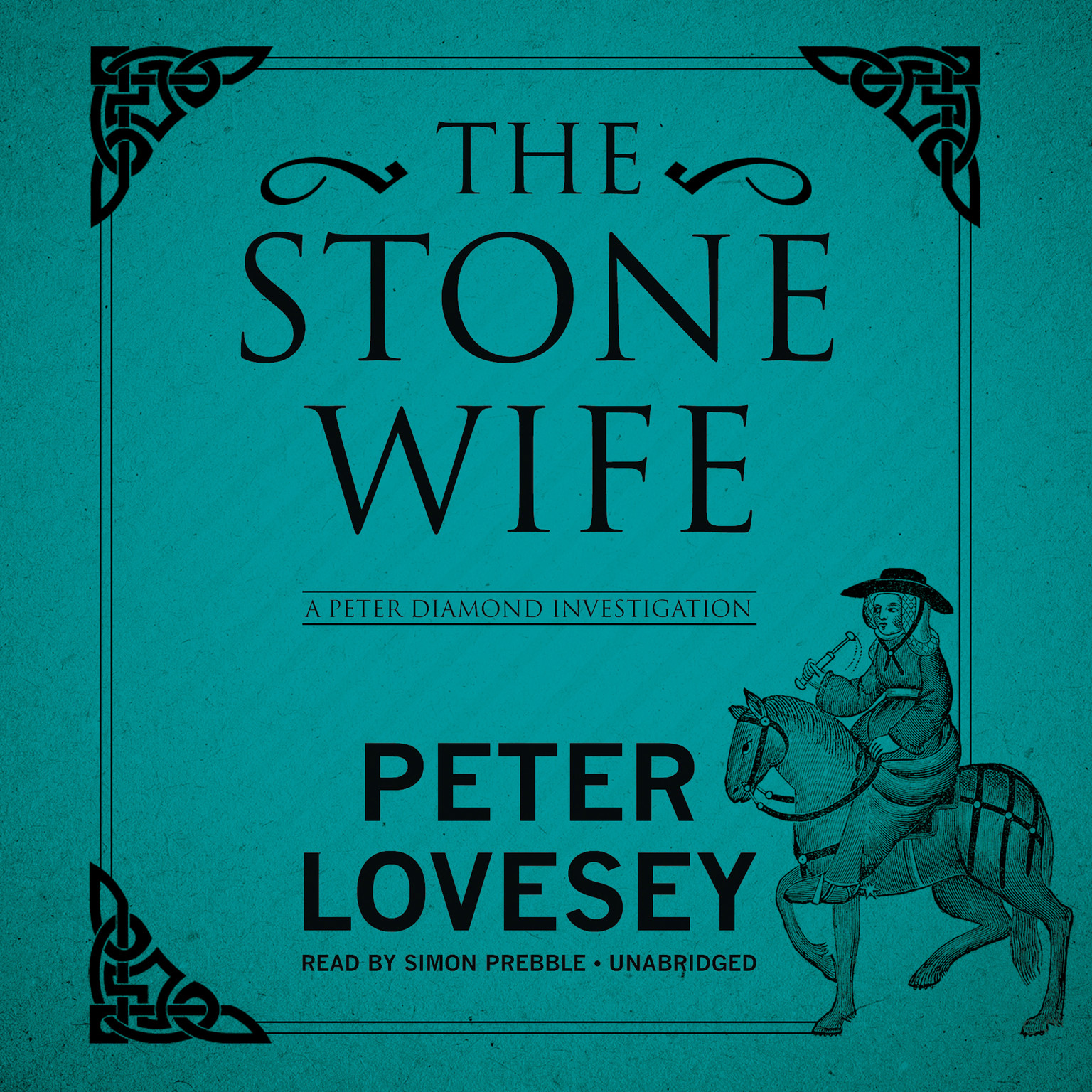 Printable The Stone Wife: A Peter Diamond Investigation Audiobook Cover Art