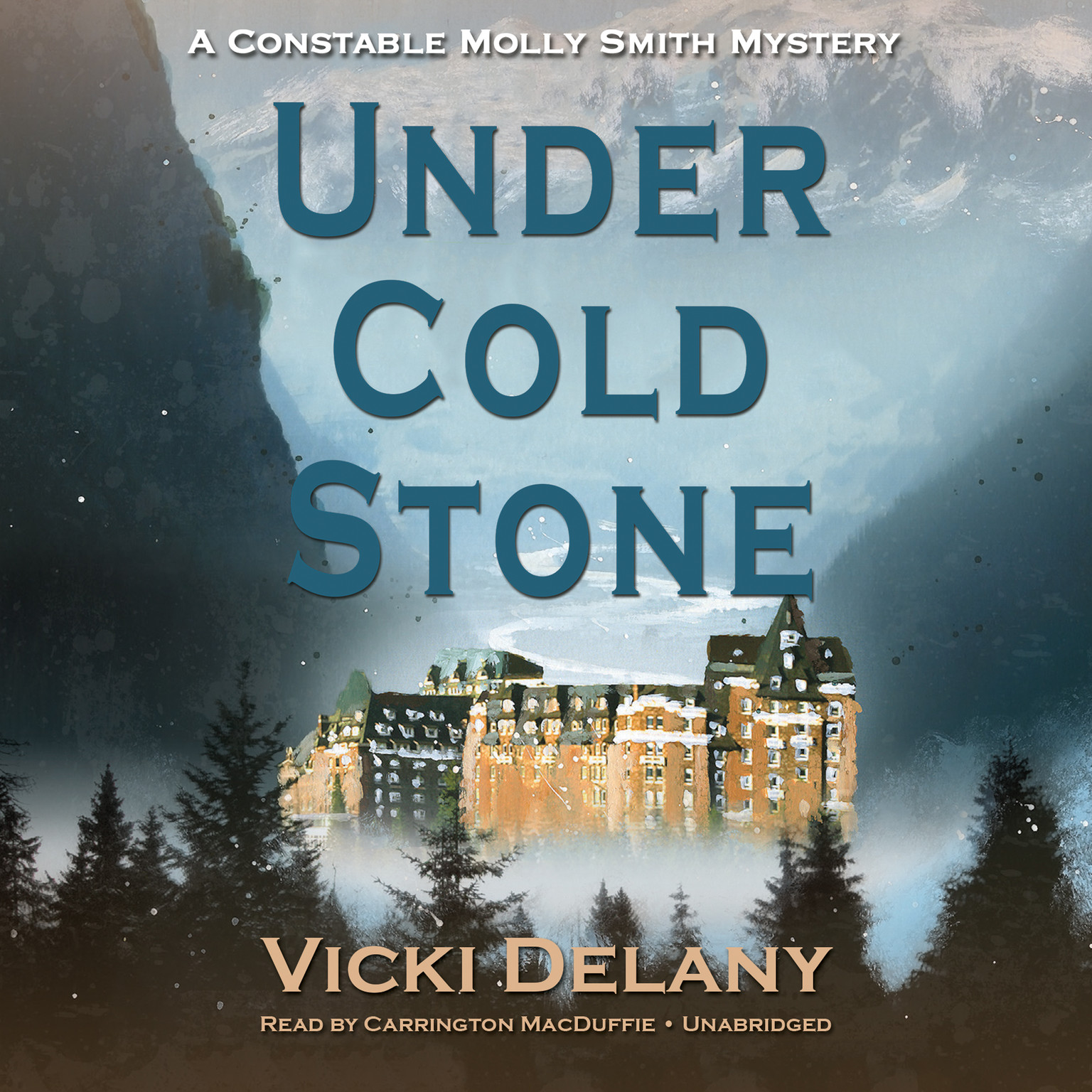 Printable Under Cold Stone: A Constable Molly Smith Mystery Audiobook Cover Art