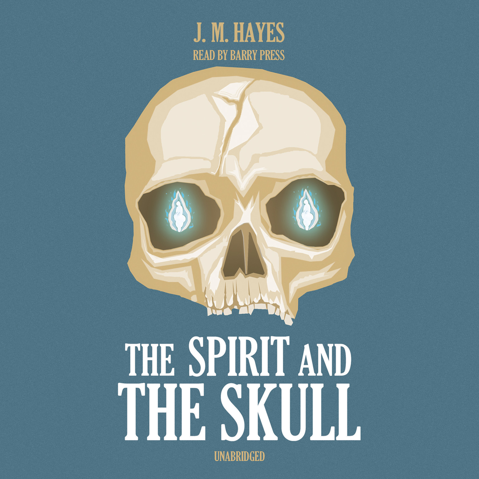 Printable The Spirit and the Skull Audiobook Cover Art