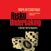 Risky Undertaking: A Buryin' Barry Mystery Audiobook, by Mark de Castrique