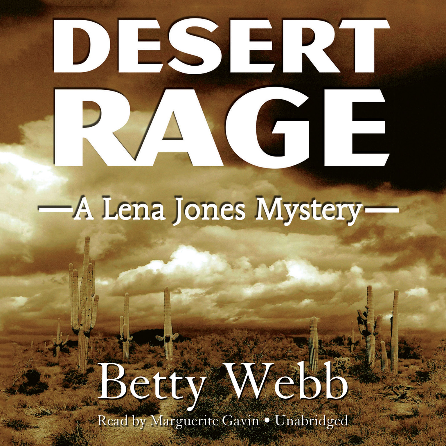 Printable Desert Rage: A Lena Jones Mystery Audiobook Cover Art