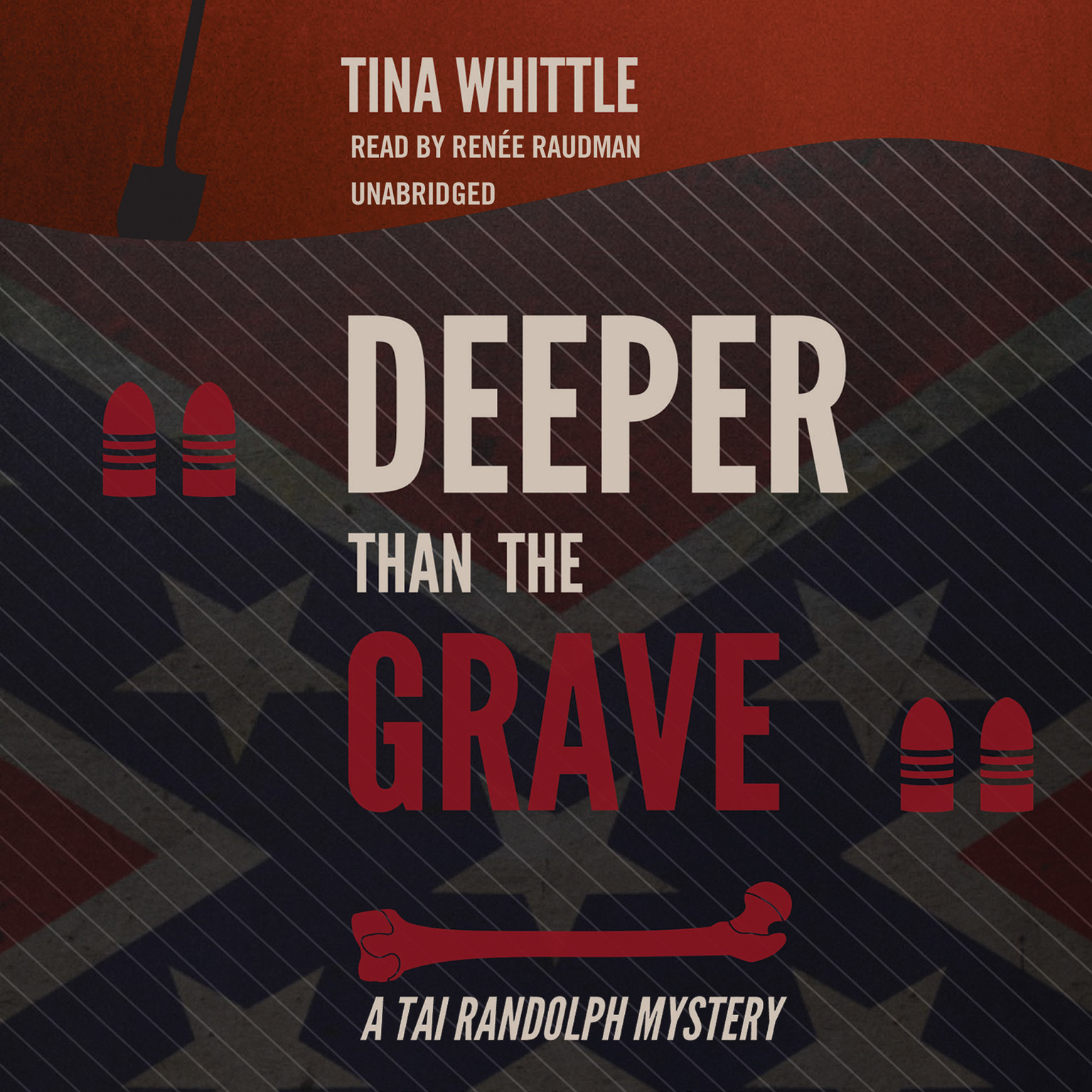 Printable Deeper Than the Grave: A Tai Randolph Mystery Audiobook Cover Art