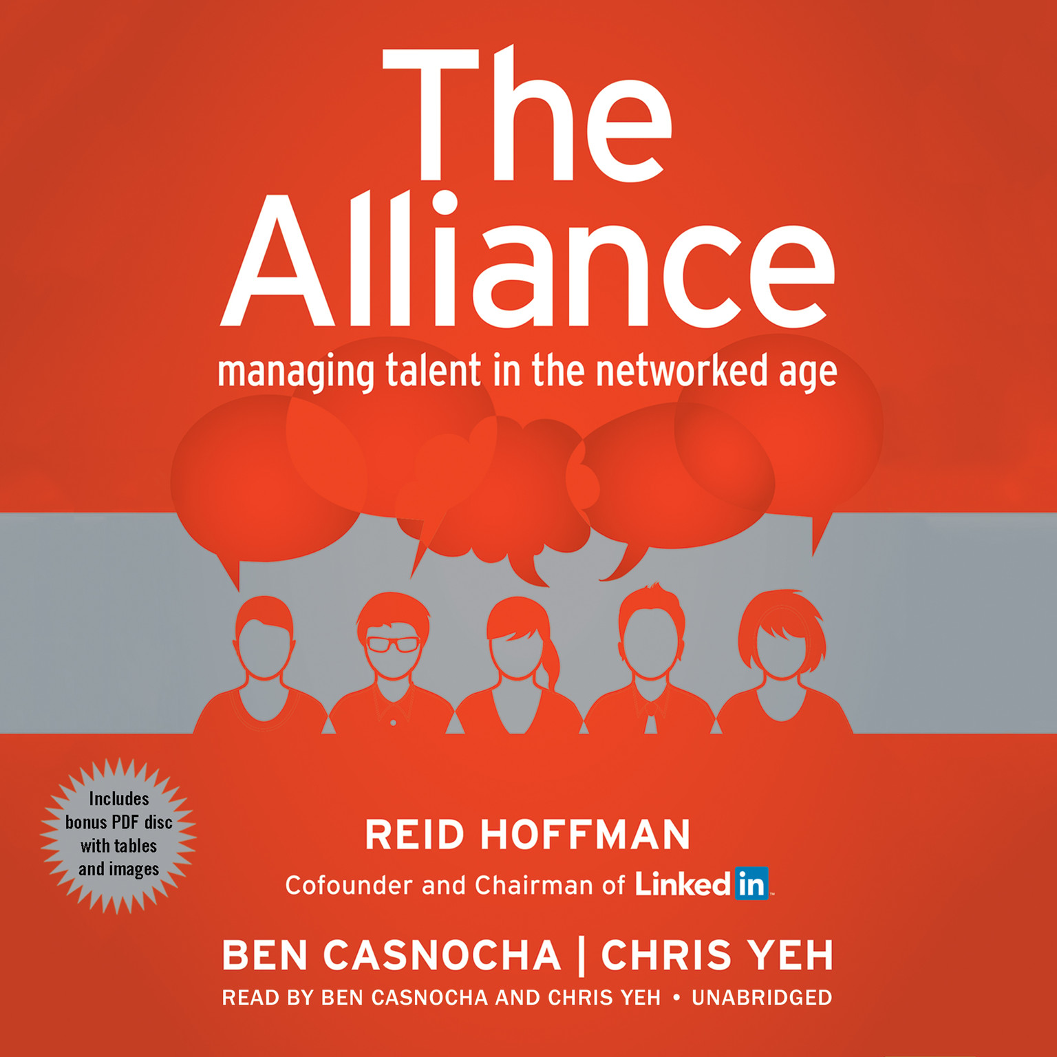 Printable The Alliance: Managing Talent in the Networked Age Audiobook Cover Art