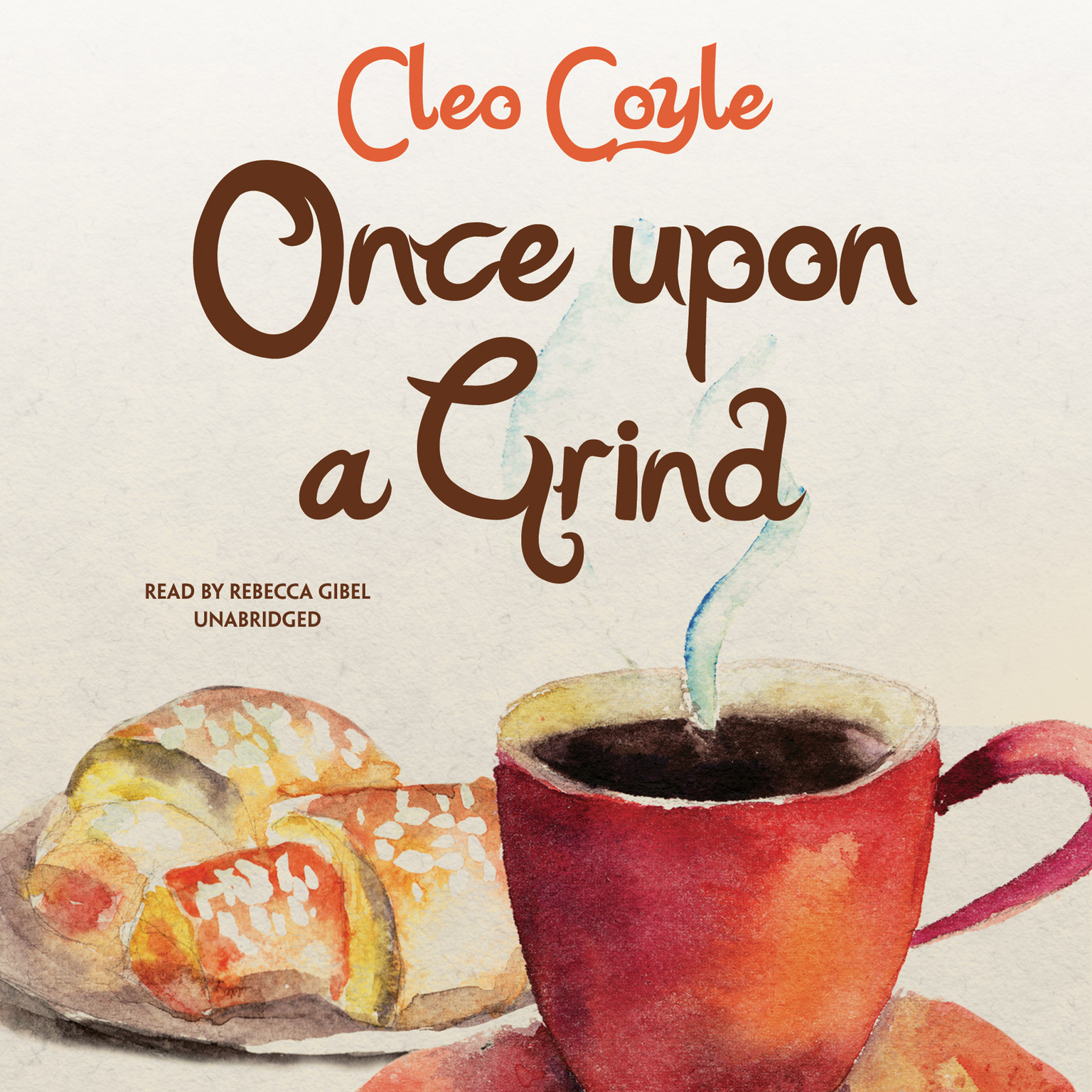 Printable Once upon a Grind Audiobook Cover Art