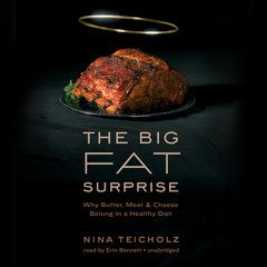 The Big Fat Surprise: Why Butter, Meat, and Cheese Belong in a Healthy Diet Audiobook, by Nina Teicholz