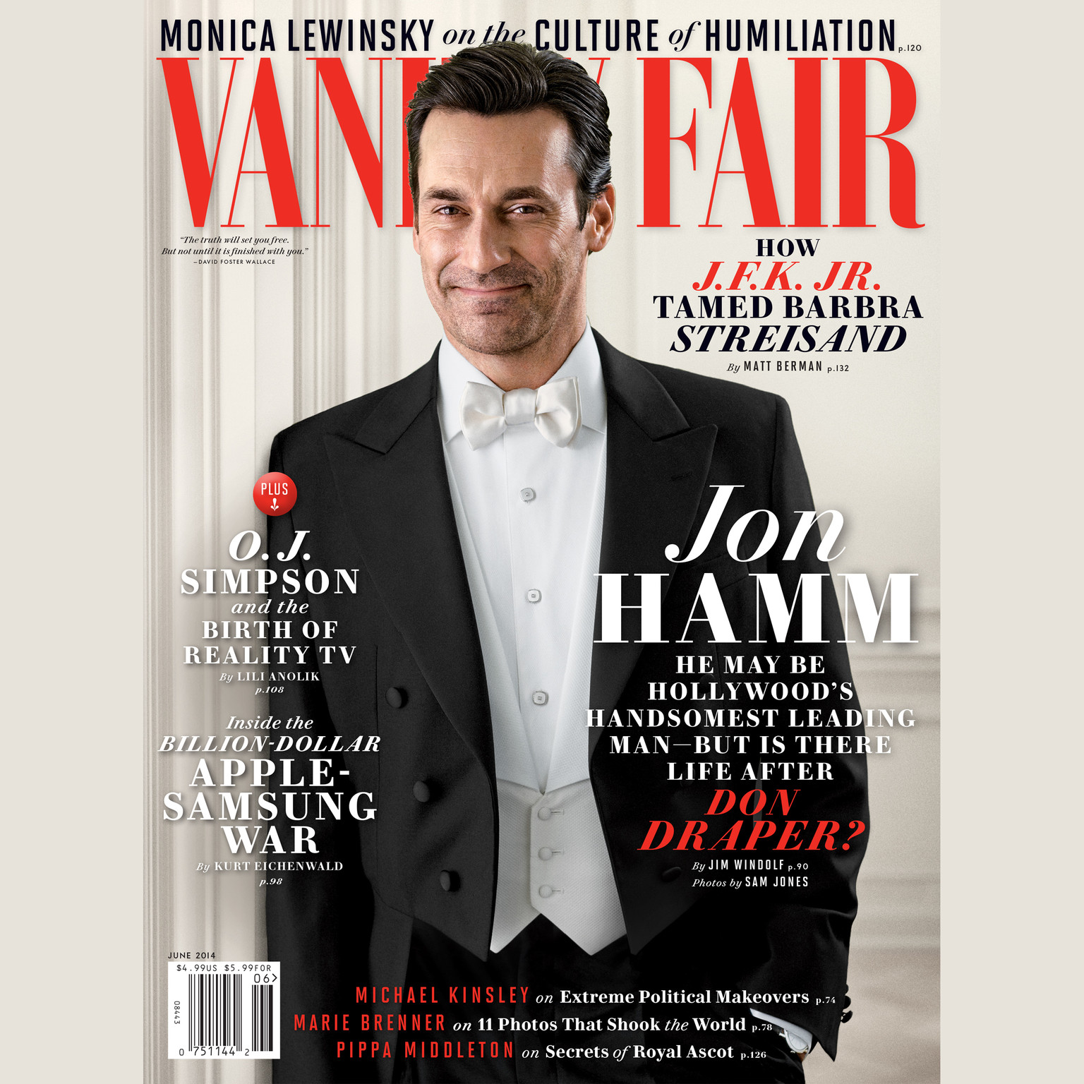 Printable Vanity Fair: June 2014 Issue Audiobook Cover Art