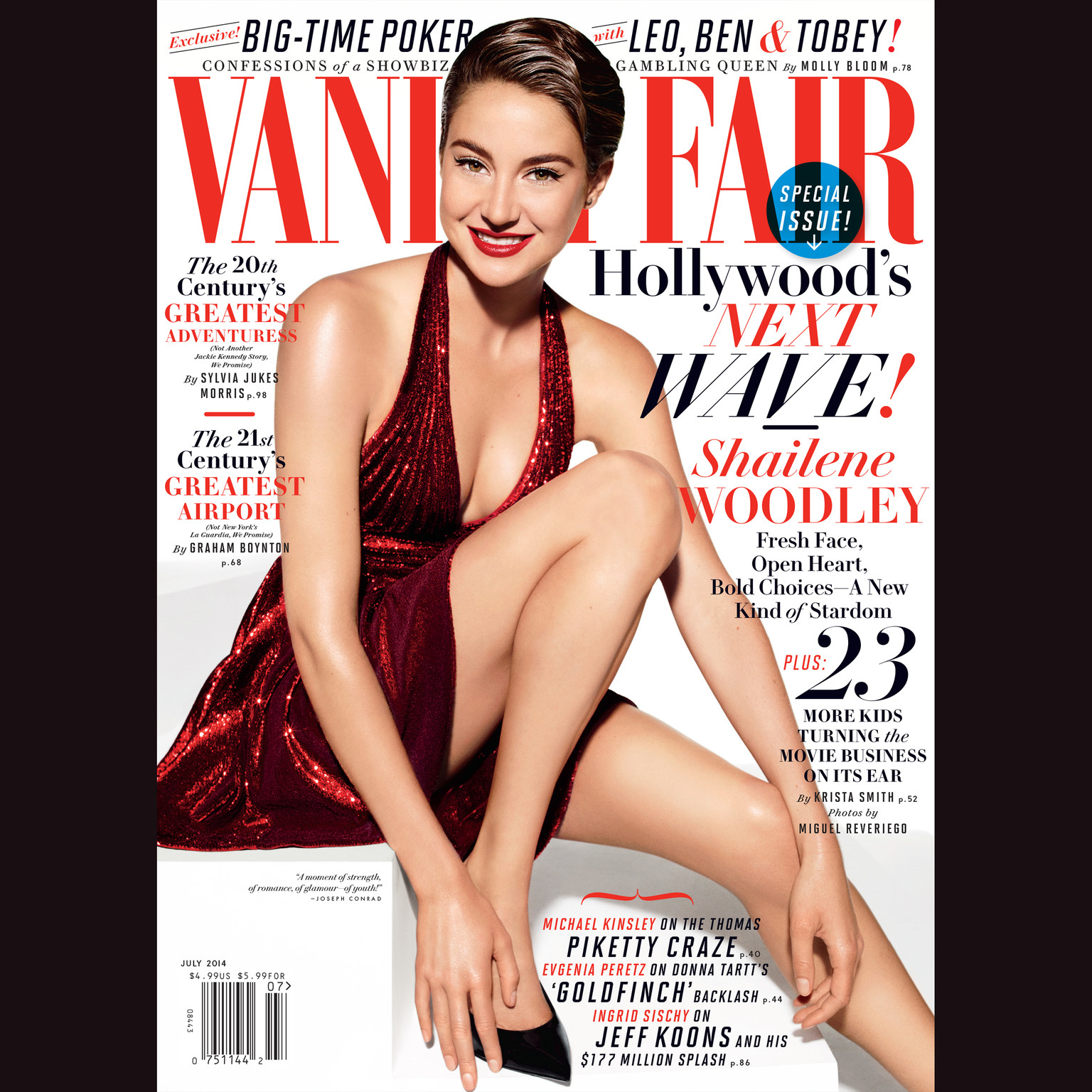 Printable Vanity Fair: July 2014 Issue Audiobook Cover Art