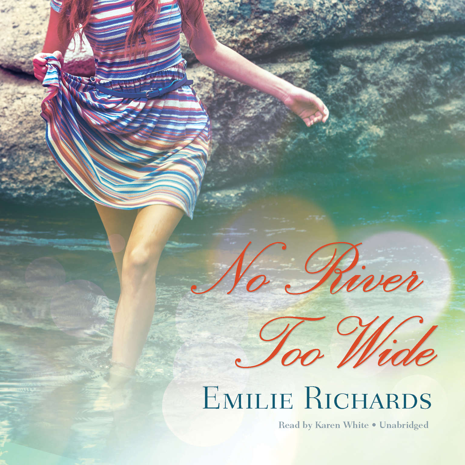 Printable No River Too Wide Audiobook Cover Art