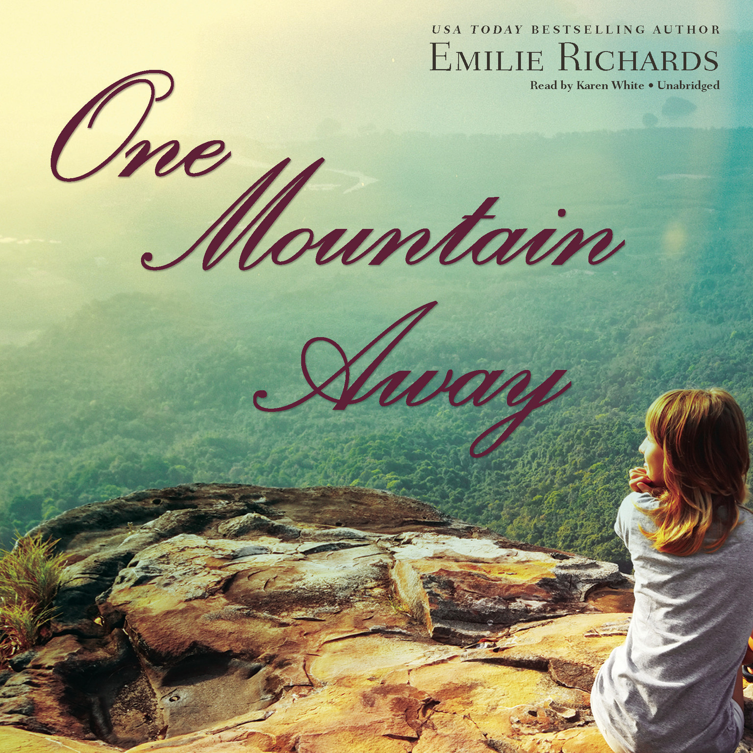 Printable One Mountain Away Audiobook Cover Art
