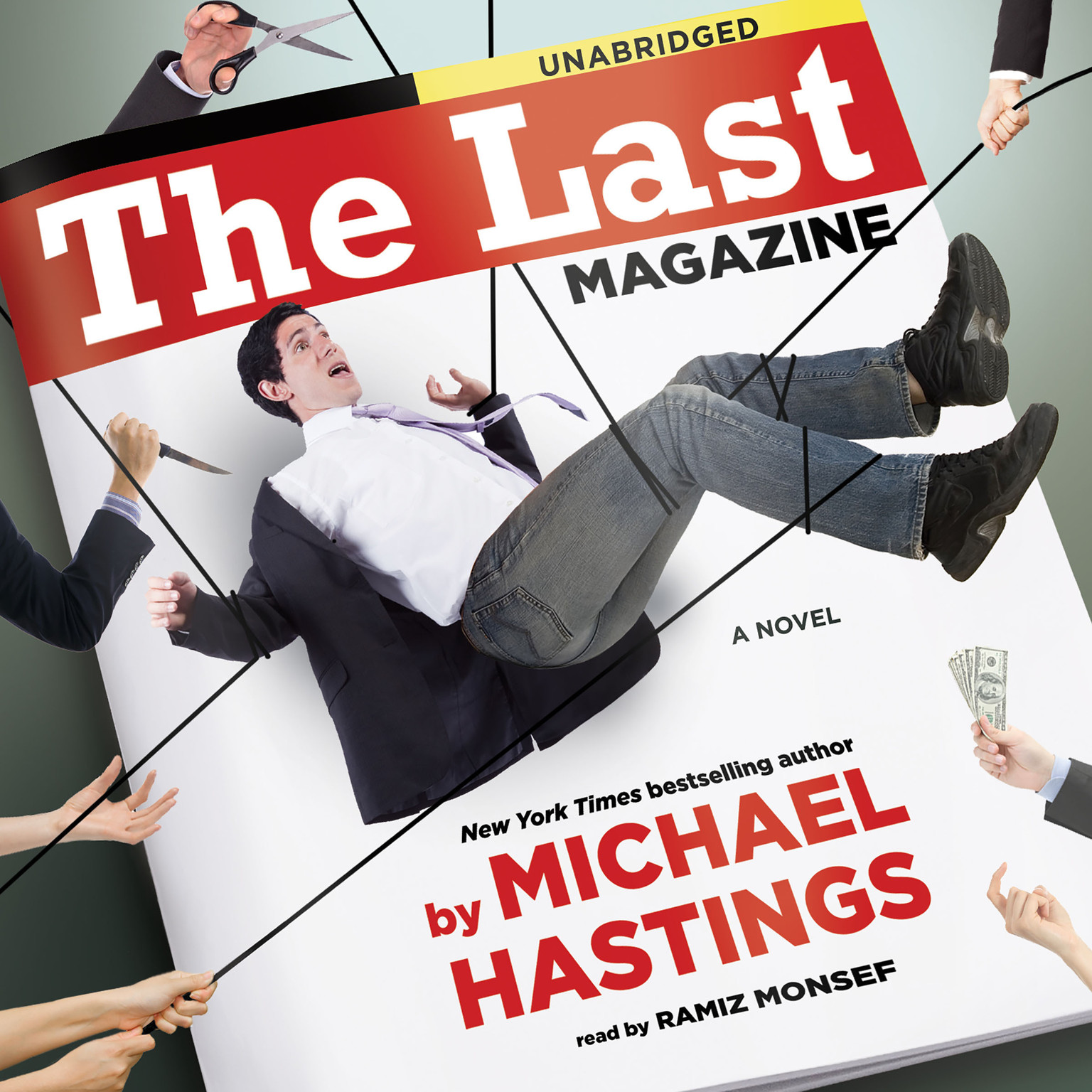Printable The Last Magazine: A Novel Audiobook Cover Art
