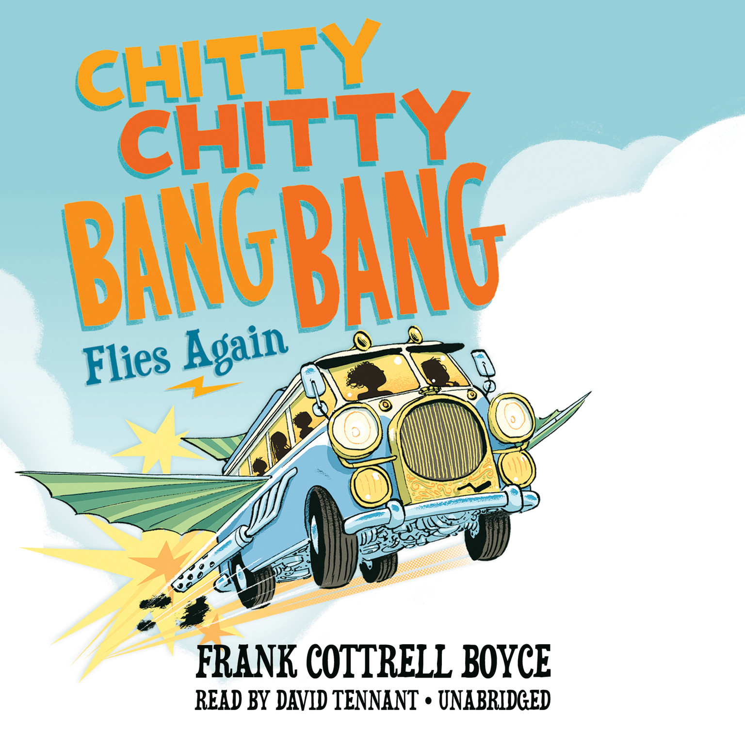 Printable Chitty Chitty Bang Bang Flies Again Audiobook Cover Art