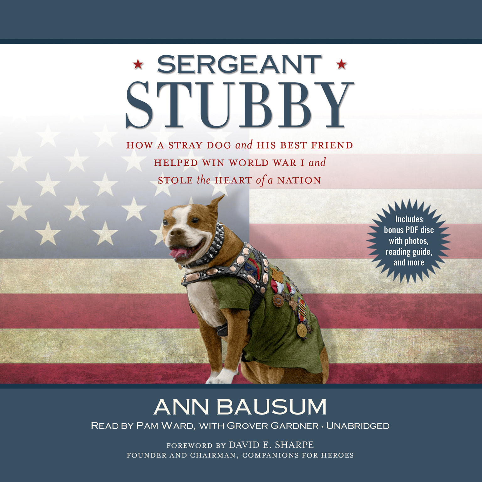 Printable Sergeant Stubby: How a Stray Dog and His Best Friend Helped Win World War I and Stole the Heart of a Nation Audiobook Cover Art