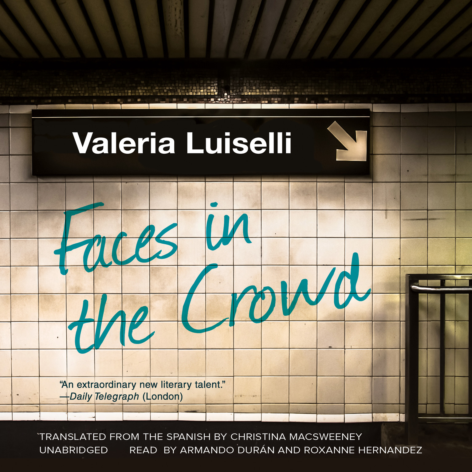 Printable Faces in the Crowd Audiobook Cover Art