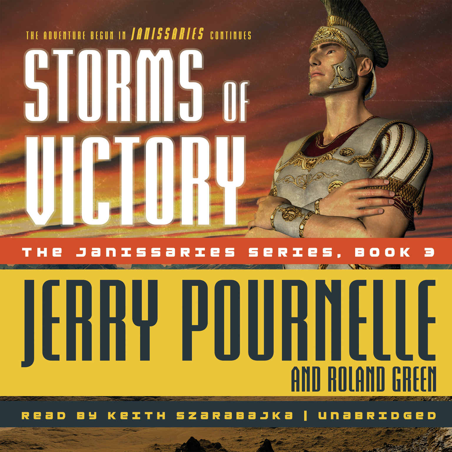 Printable Storms of Victory Audiobook Cover Art