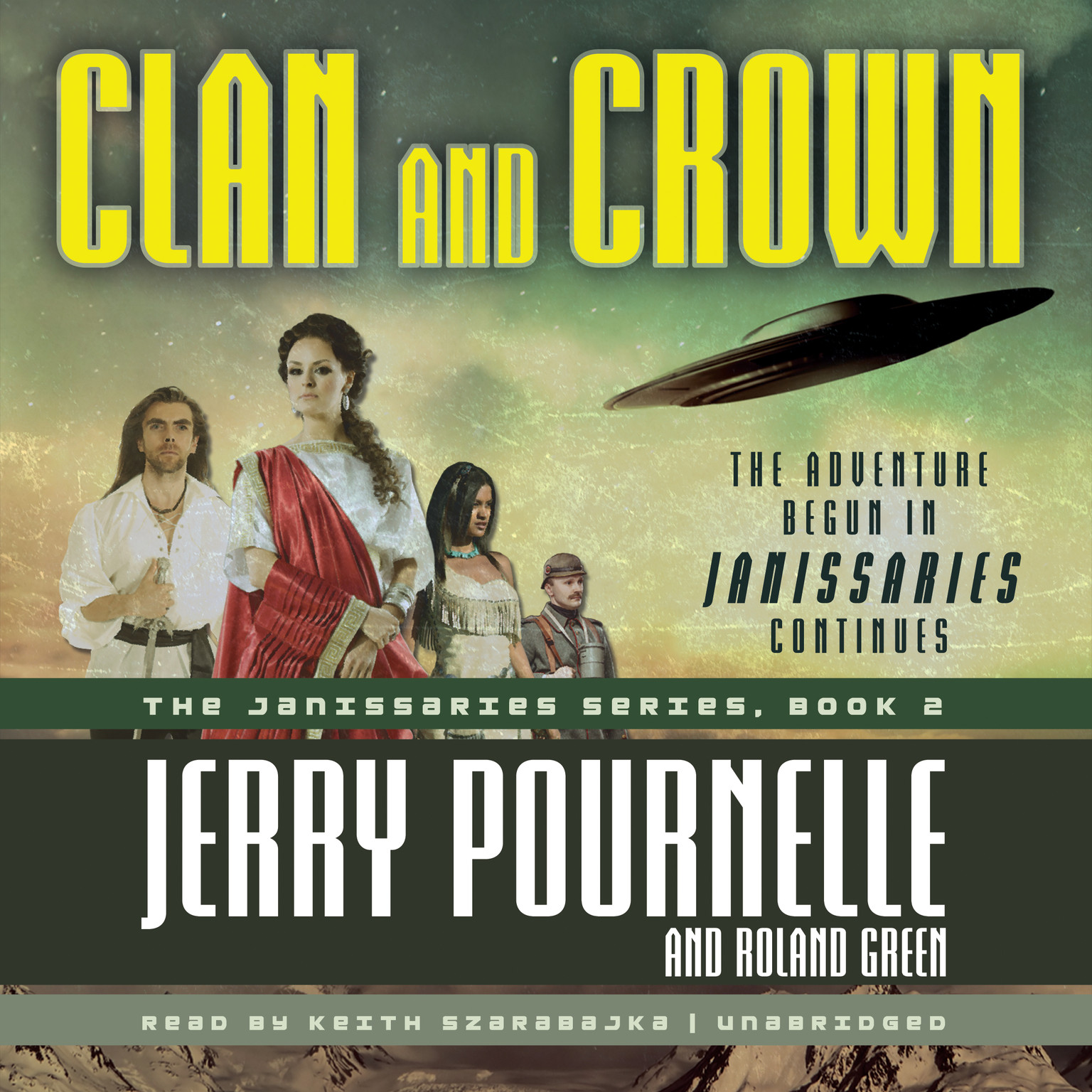 Printable Clan and Crown Audiobook Cover Art