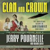 Clan and Crown Audiobook, by Jerry Pournelle