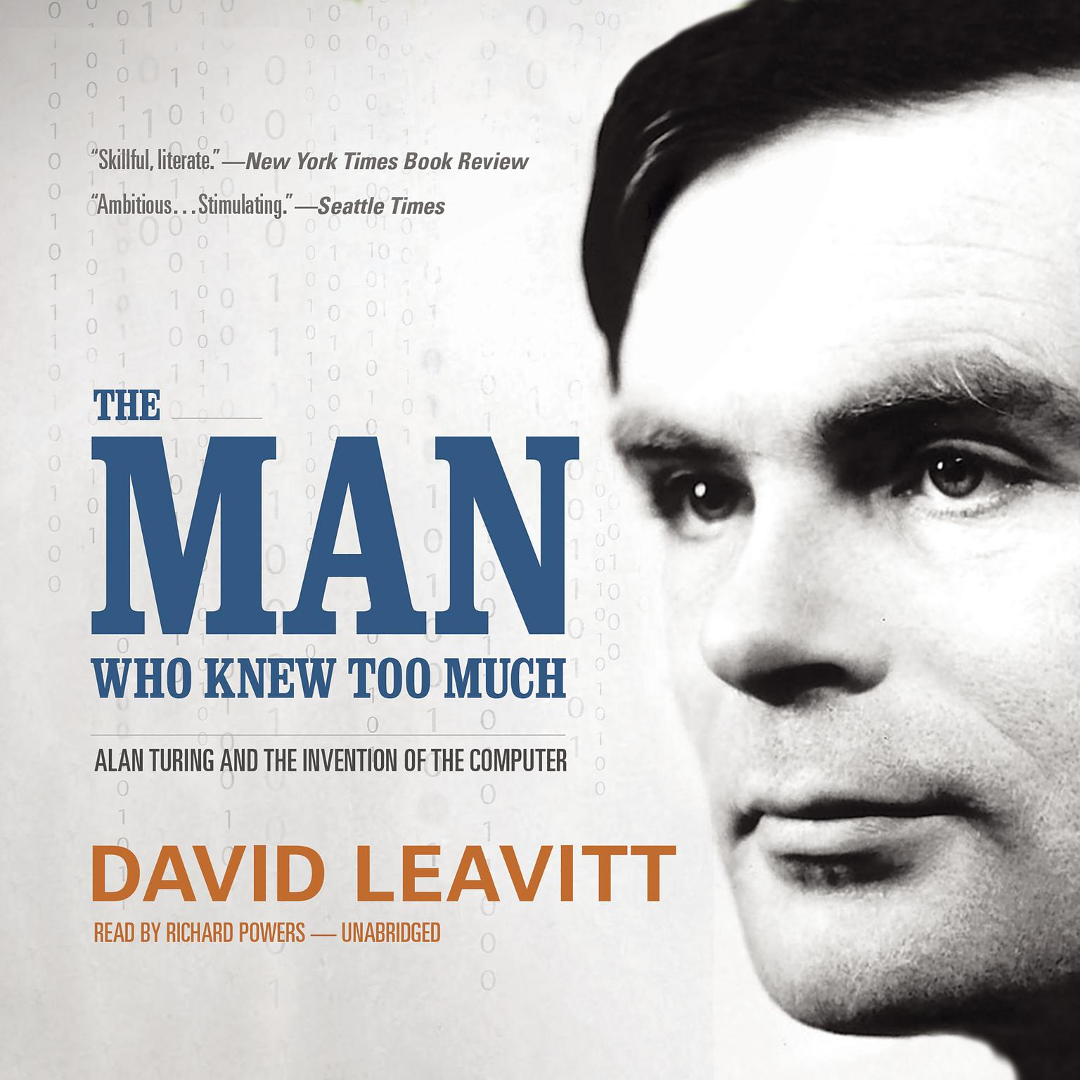 Printable The Man Who Knew Too Much: Alan Turing and the Invention of the Computer Audiobook Cover Art