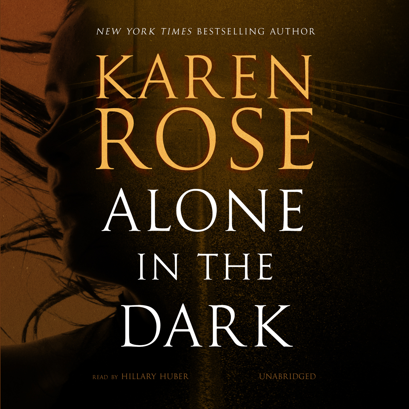 Printable Alone in the Dark Audiobook Cover Art