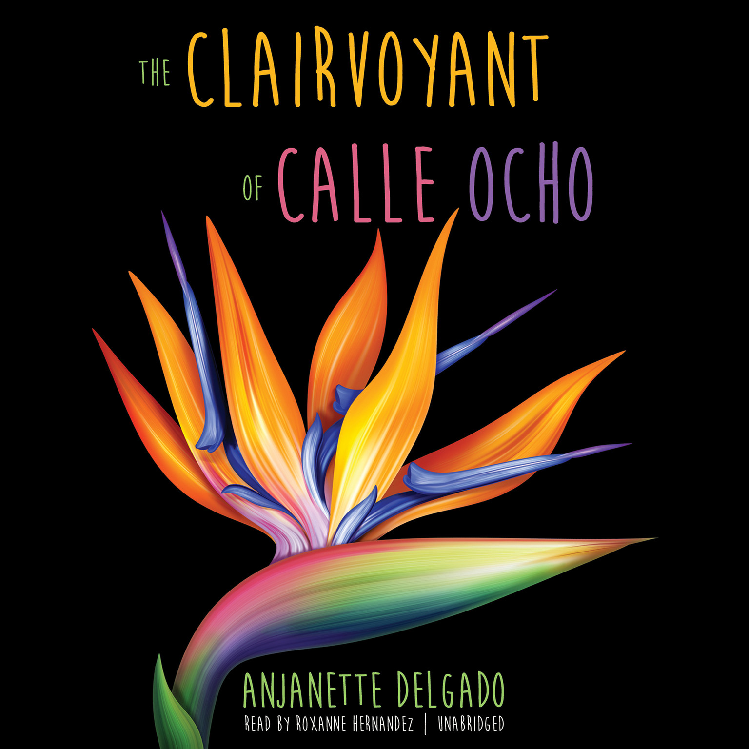 Printable The Clairvoyant of Calle Ocho Audiobook Cover Art