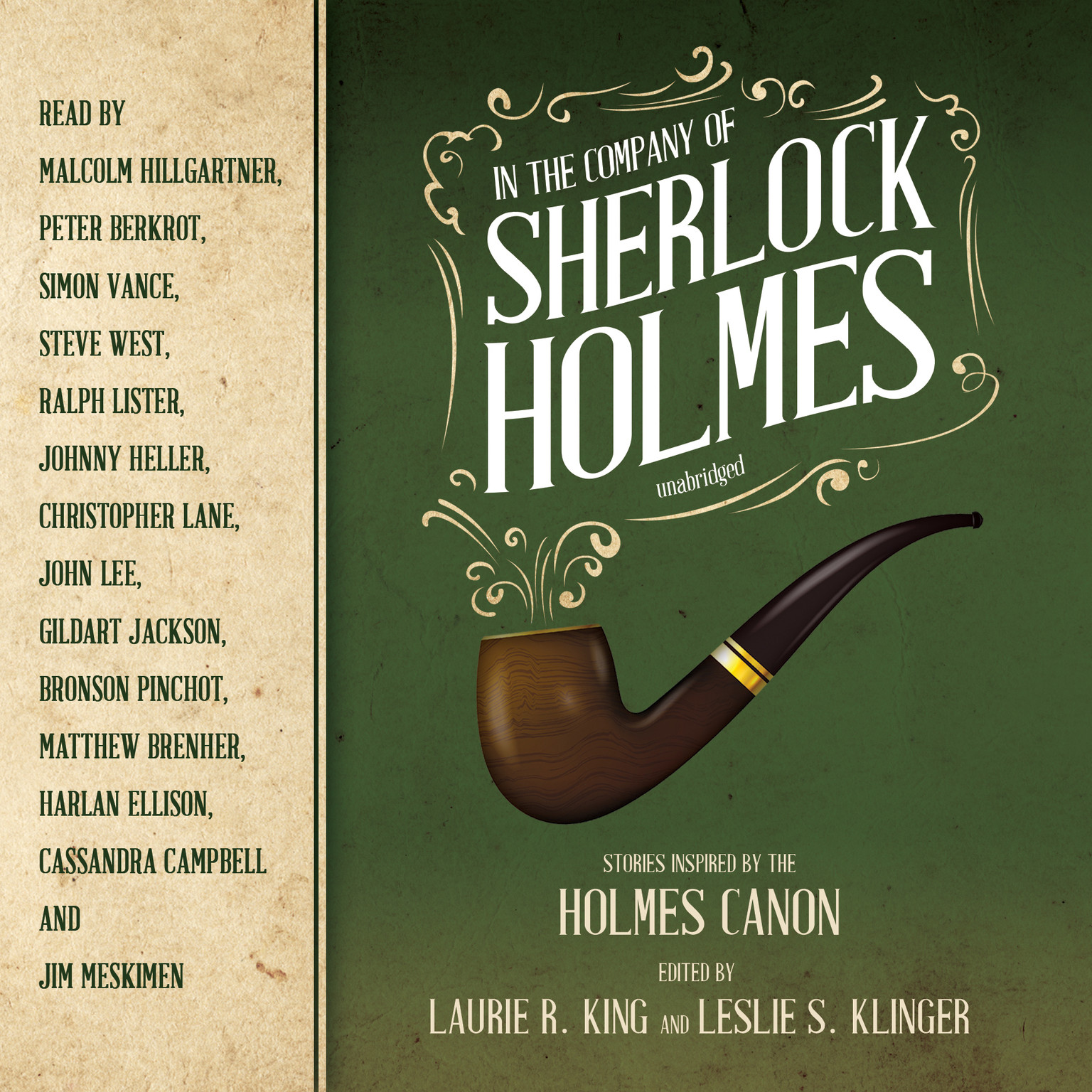 Printable In the Company of Sherlock Holmes: Stories Inspired by the Holmes Canon Audiobook Cover Art