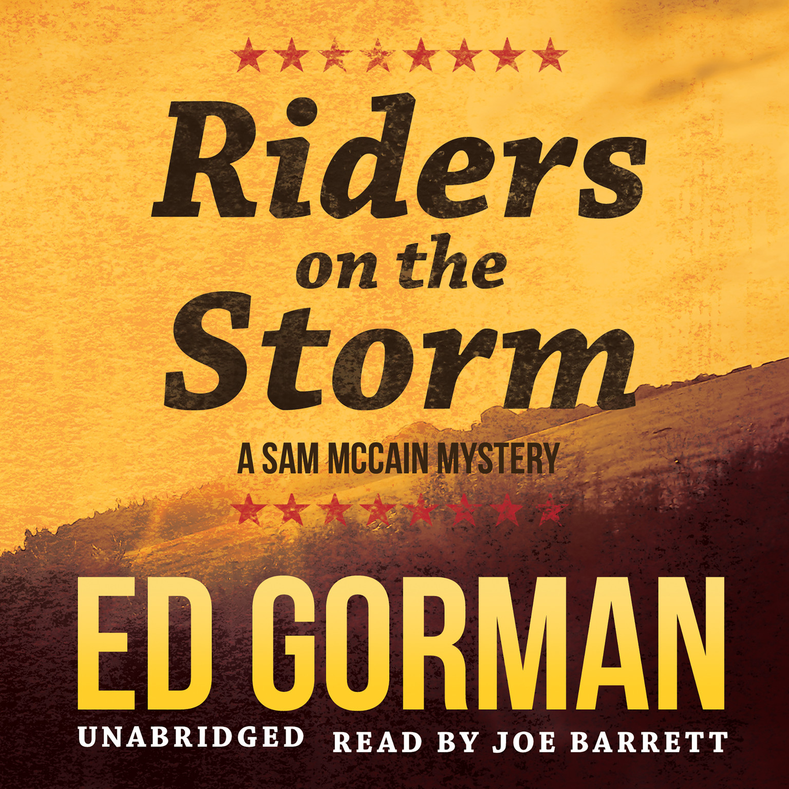 Printable Riders on the Storm Audiobook Cover Art