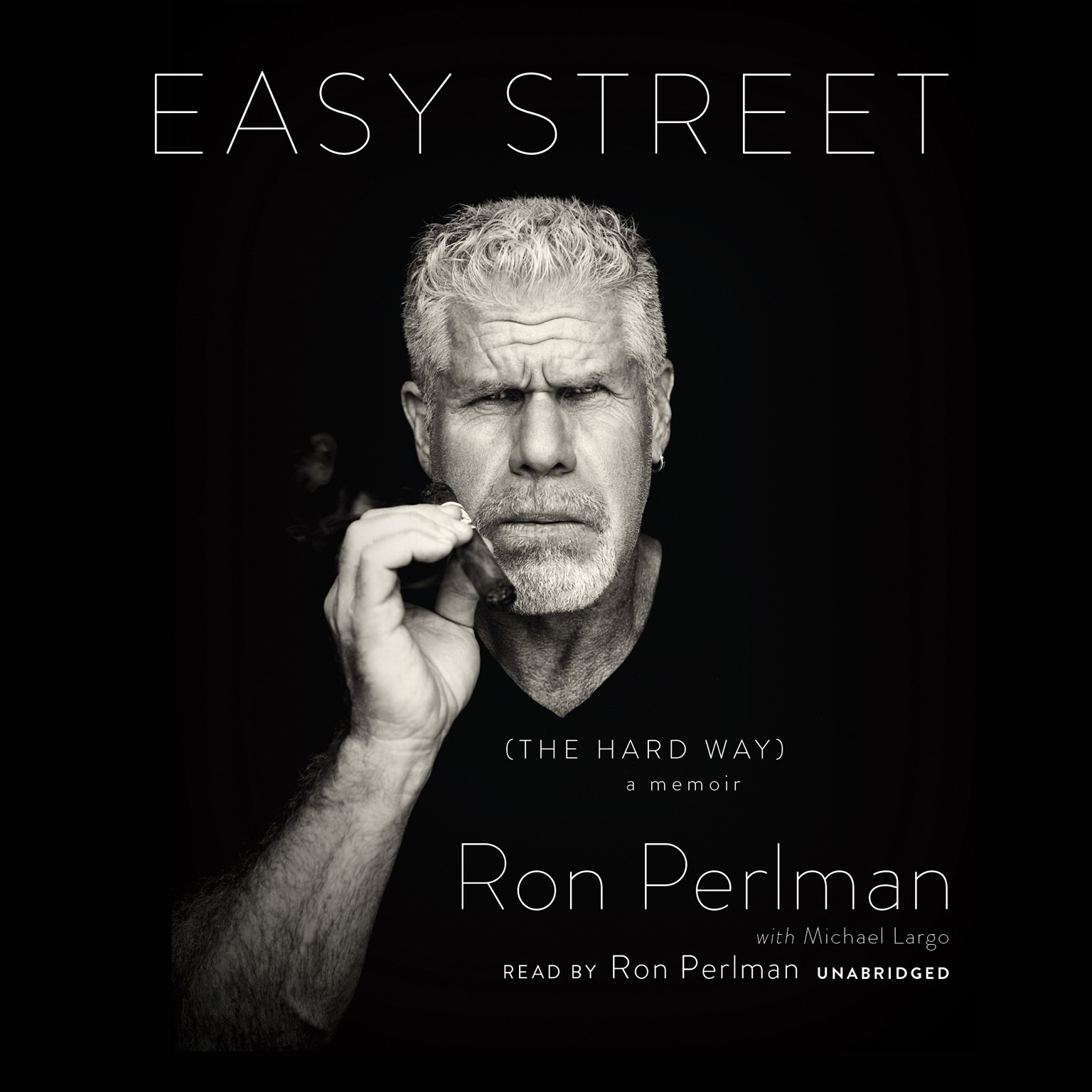 Printable Easy Street (the Hard Way): A Memoir Audiobook Cover Art