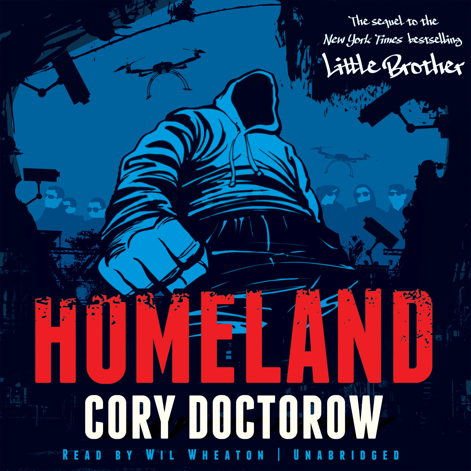 Printable Homeland Audiobook Cover Art