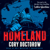 Homeland Audiobook, by Cory Doctorow