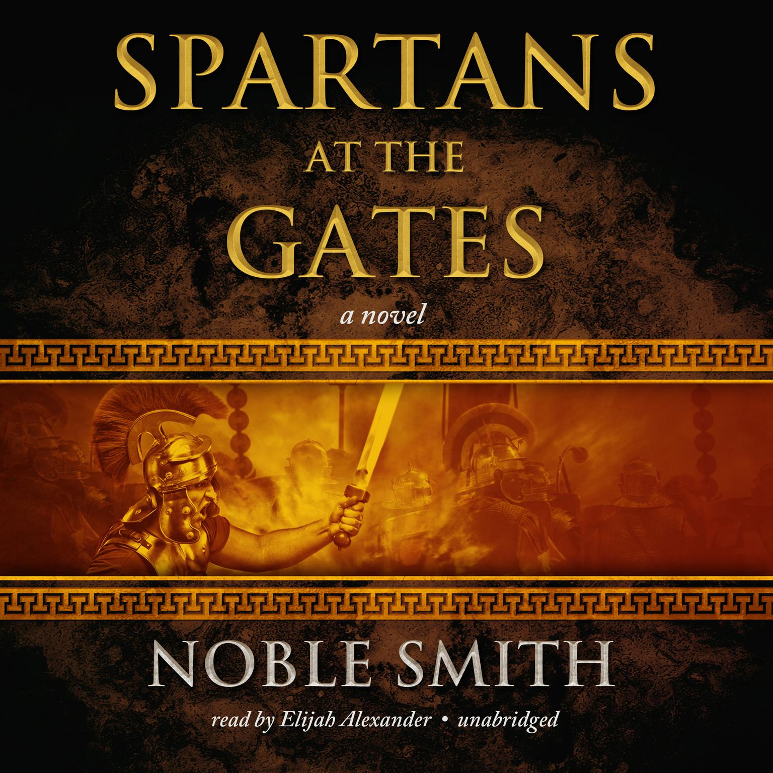 Printable Spartans at the Gates: Book II of the Warrior Trilogy Audiobook Cover Art