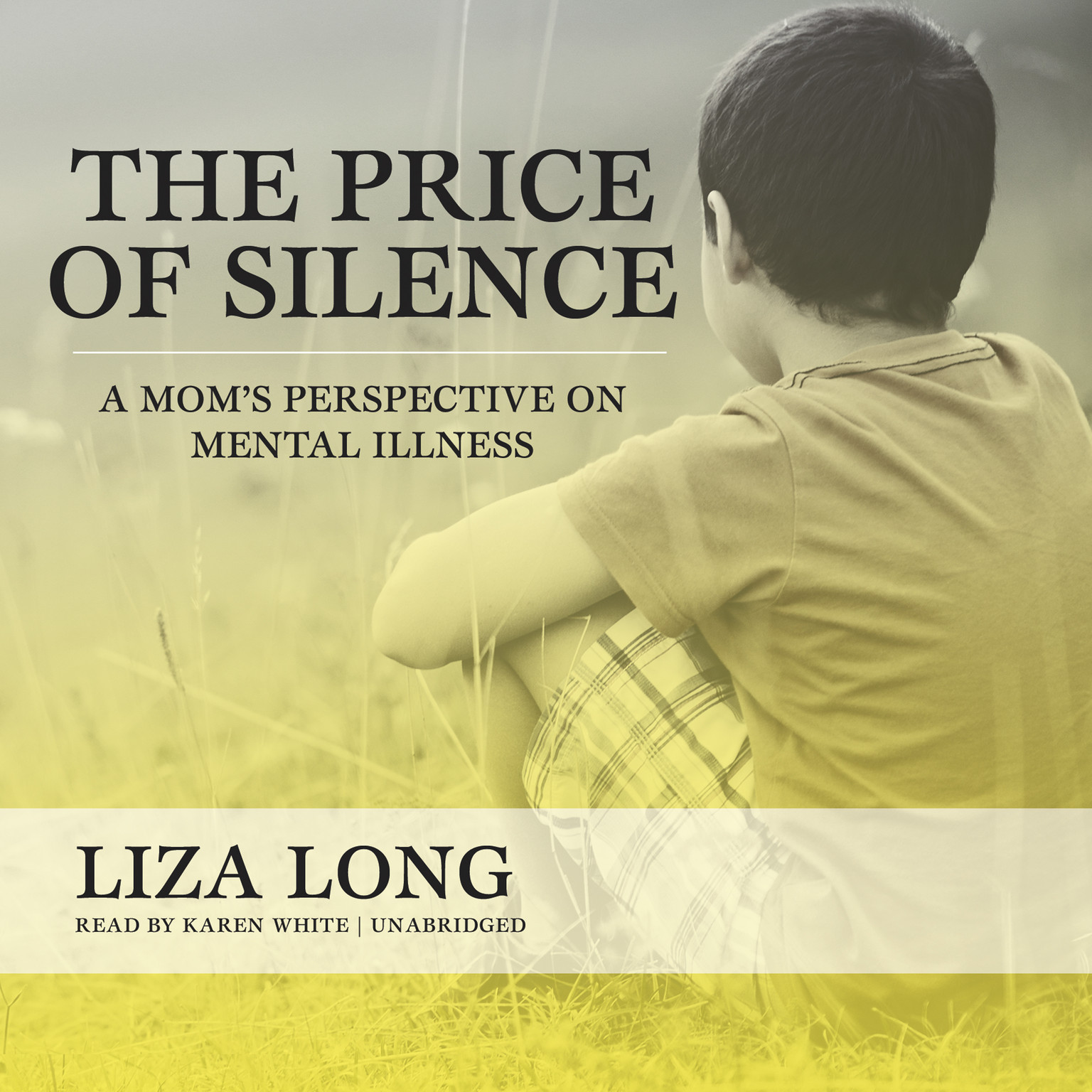 Printable The Price of Silence: A Mom's Perspective on Mental Illness Audiobook Cover Art