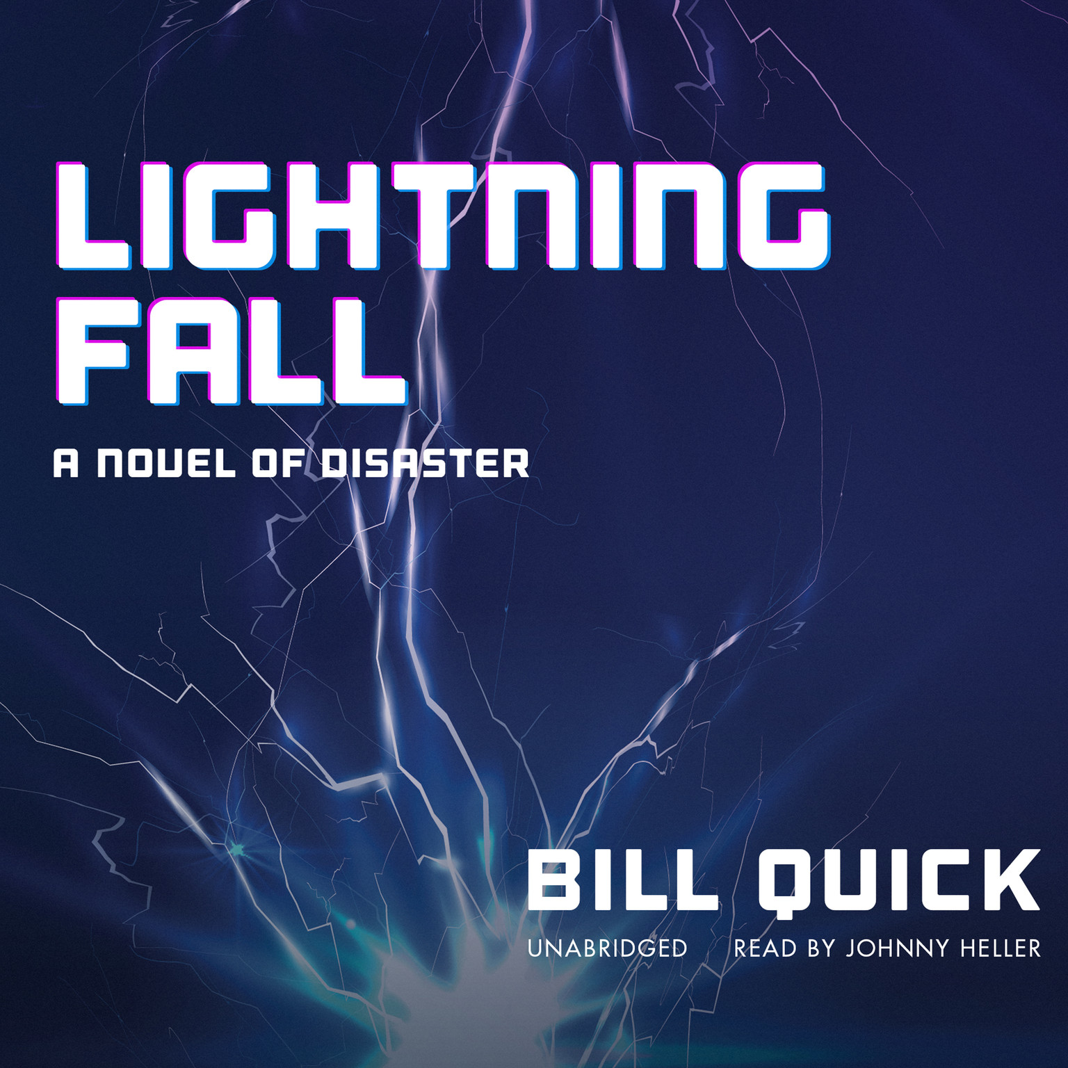 Printable Lightning Fall: A Novel of Disaster Audiobook Cover Art